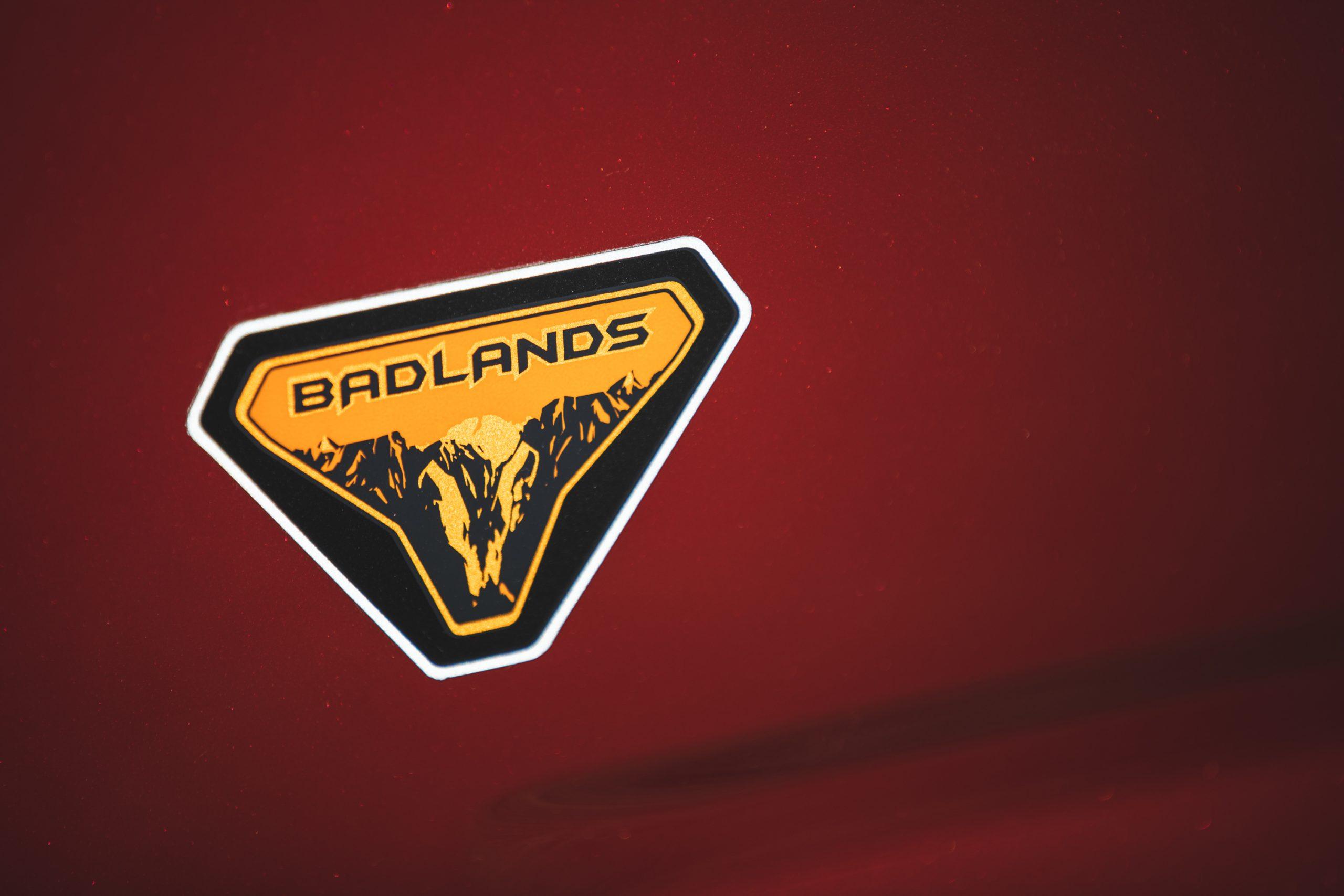 2021 Ford Bronco Badlands Badge