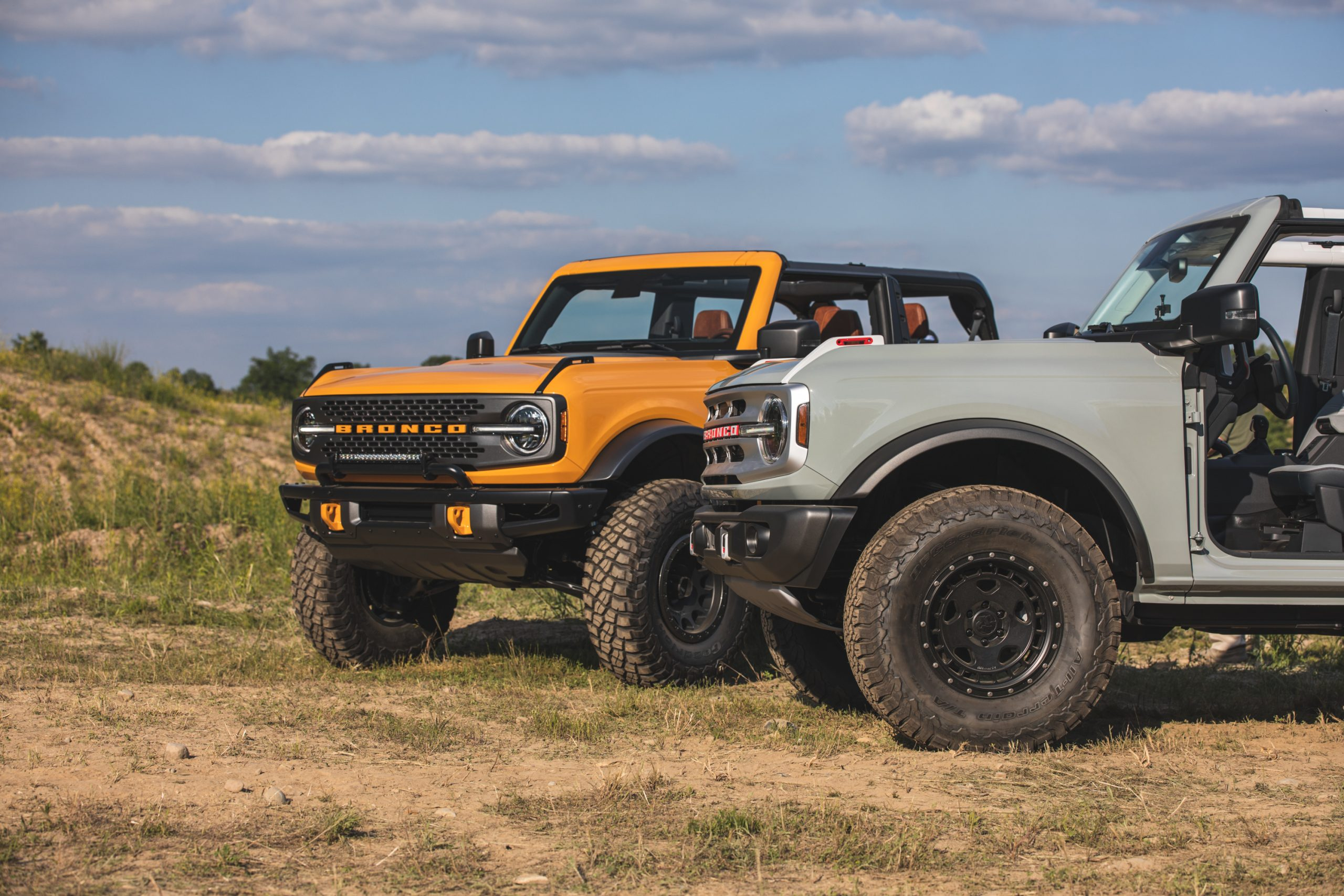 2021 Ford Bronco Two and Four Door Models