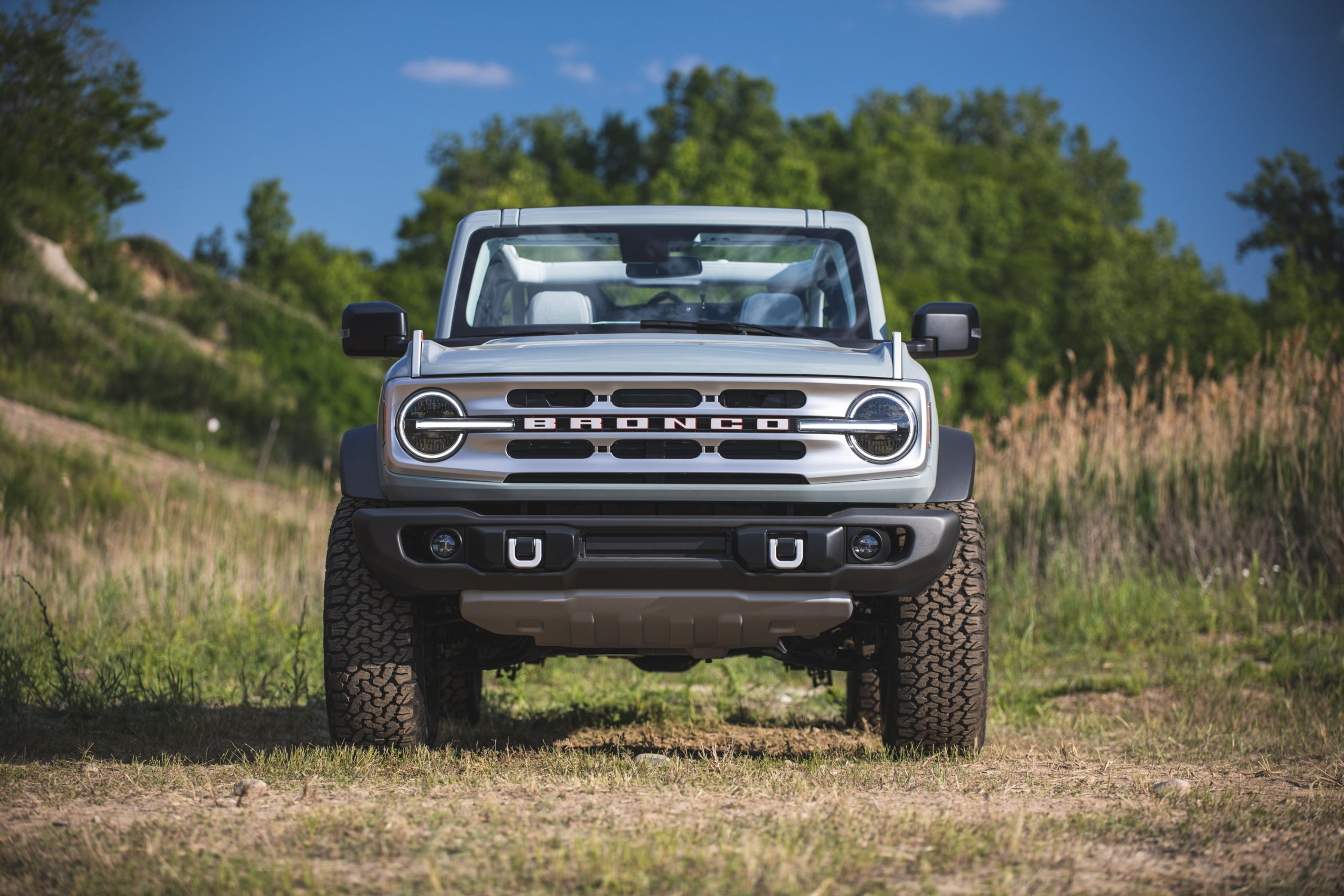 2021 Ford Bronco Four Door Front
