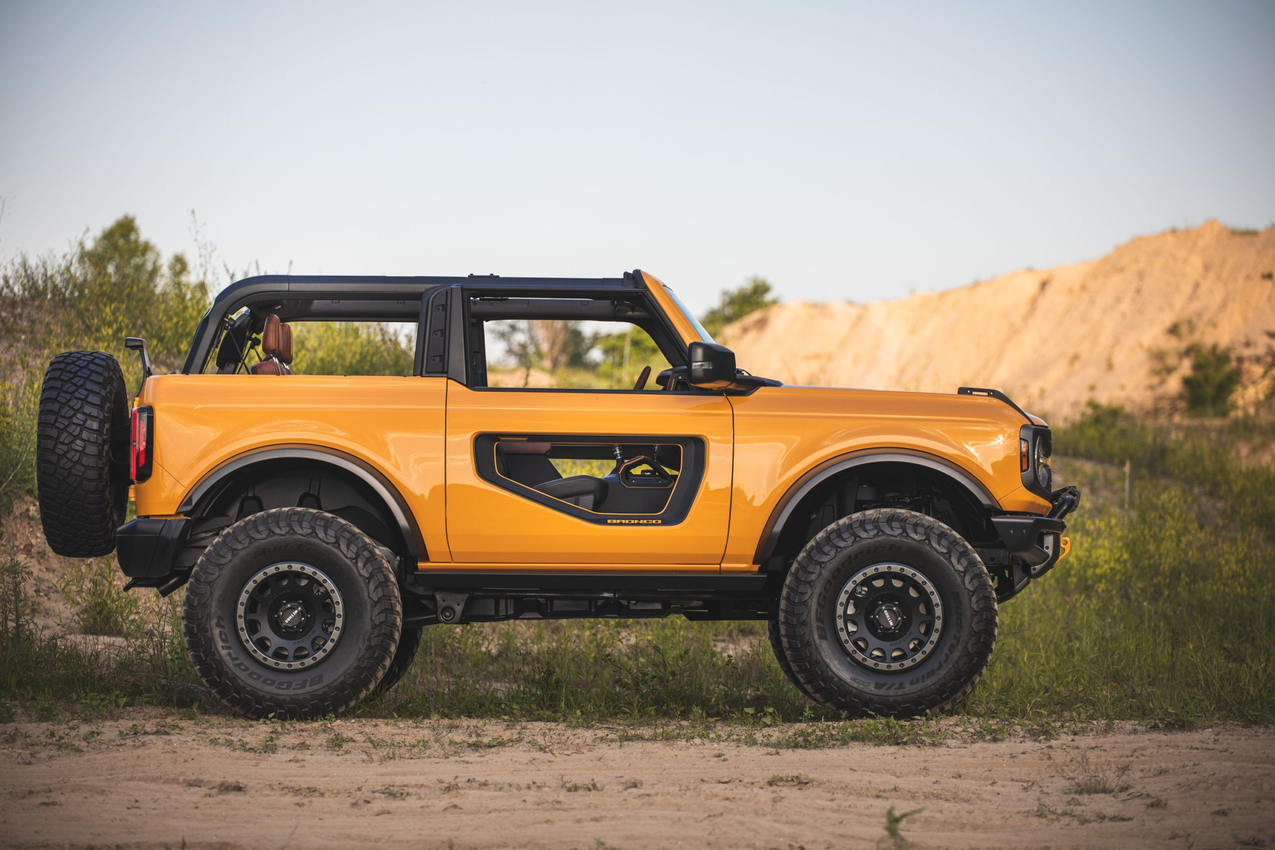 2021 Ford Bronco Two Door Side Profile