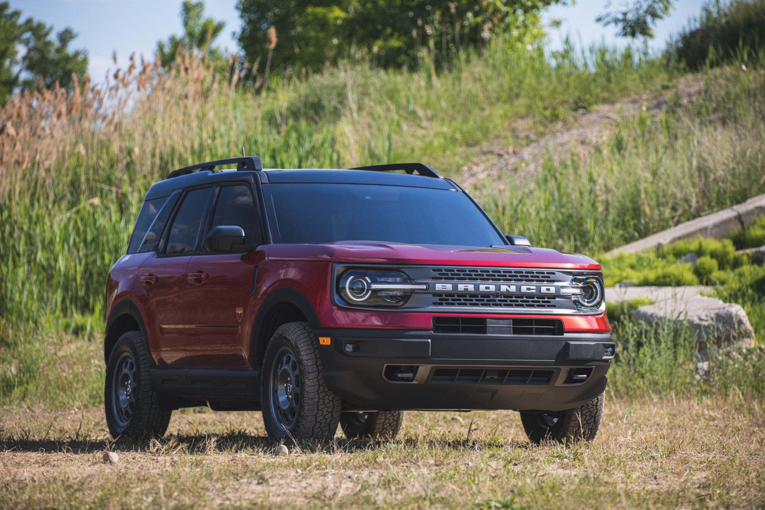 2021 Ford Bronco Sport Front Three-Quarter