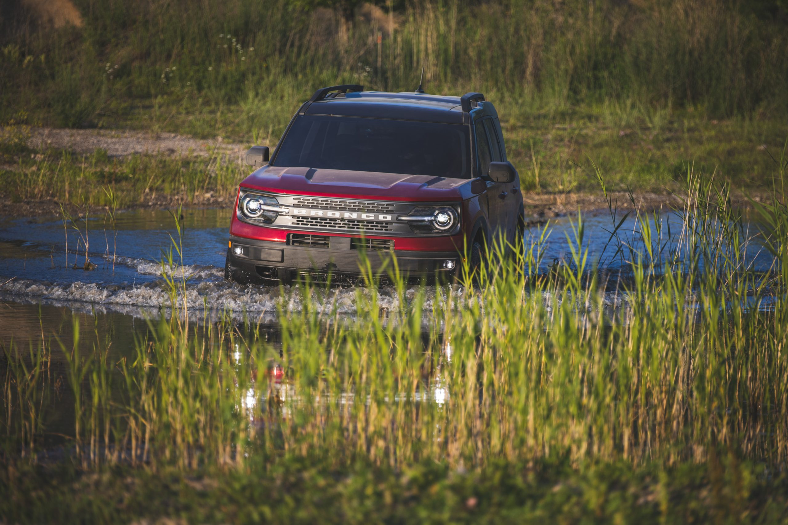 2021 Ford Bronco Sport Water Crossing Front Action