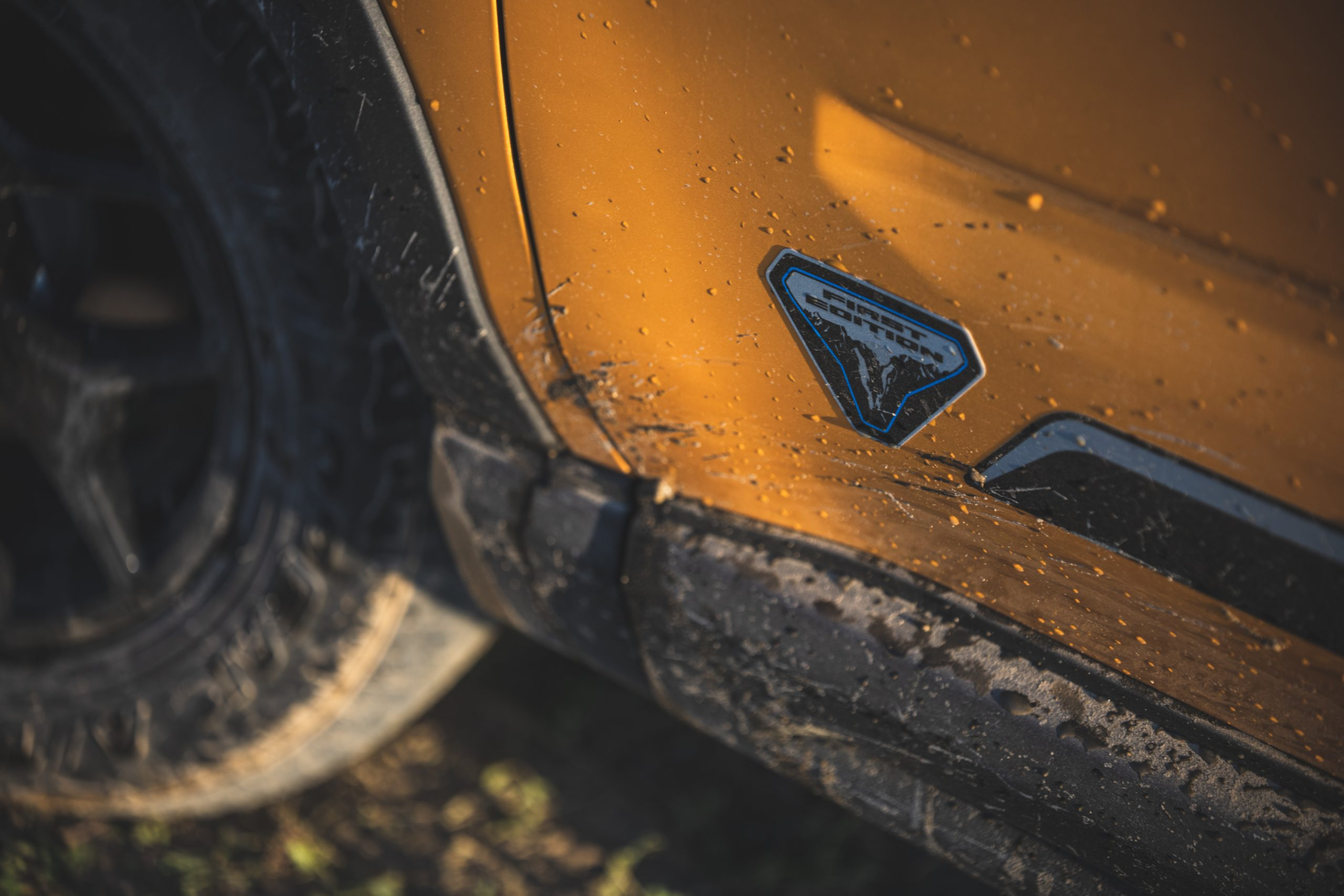 2021 Ford Bronco Sport First Edition Badge