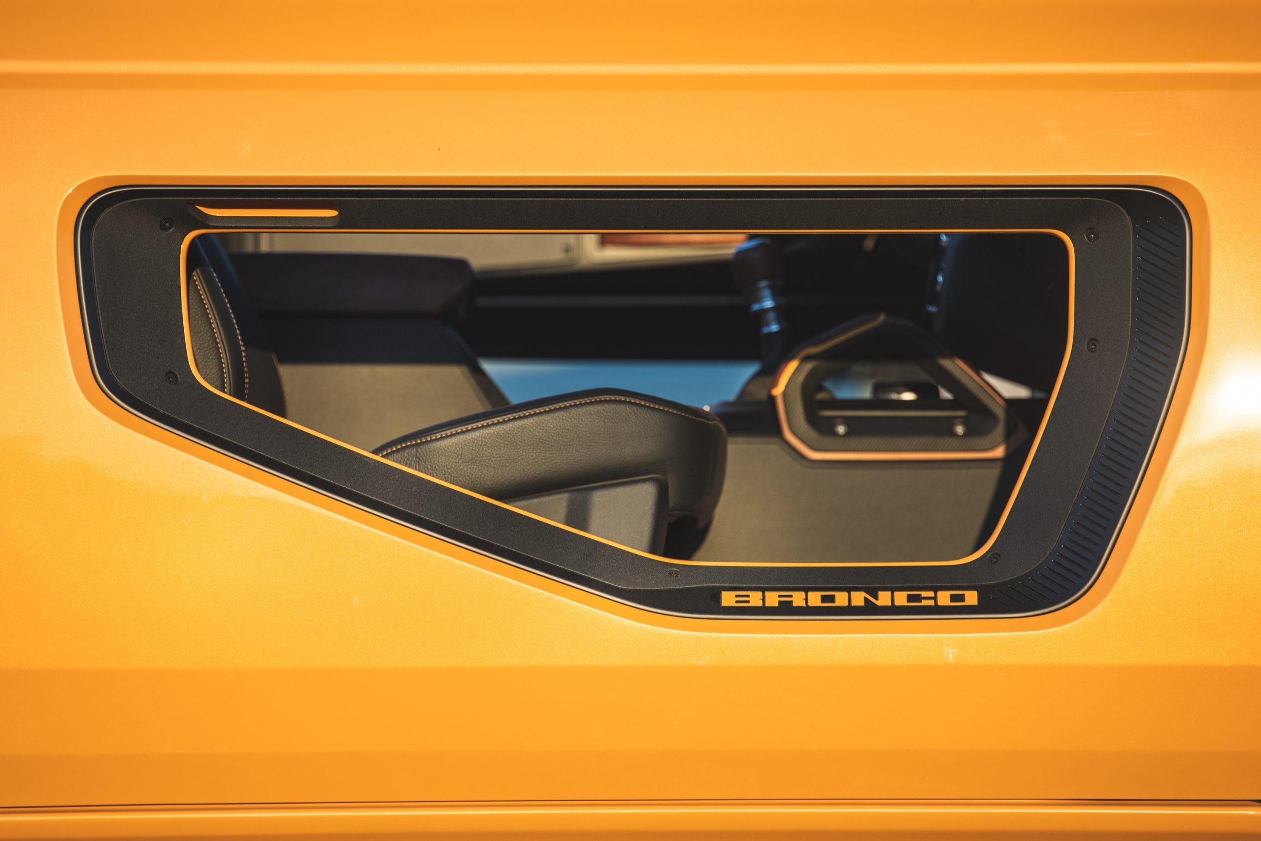 2021 Ford Bronco Two Door Skeleton Design