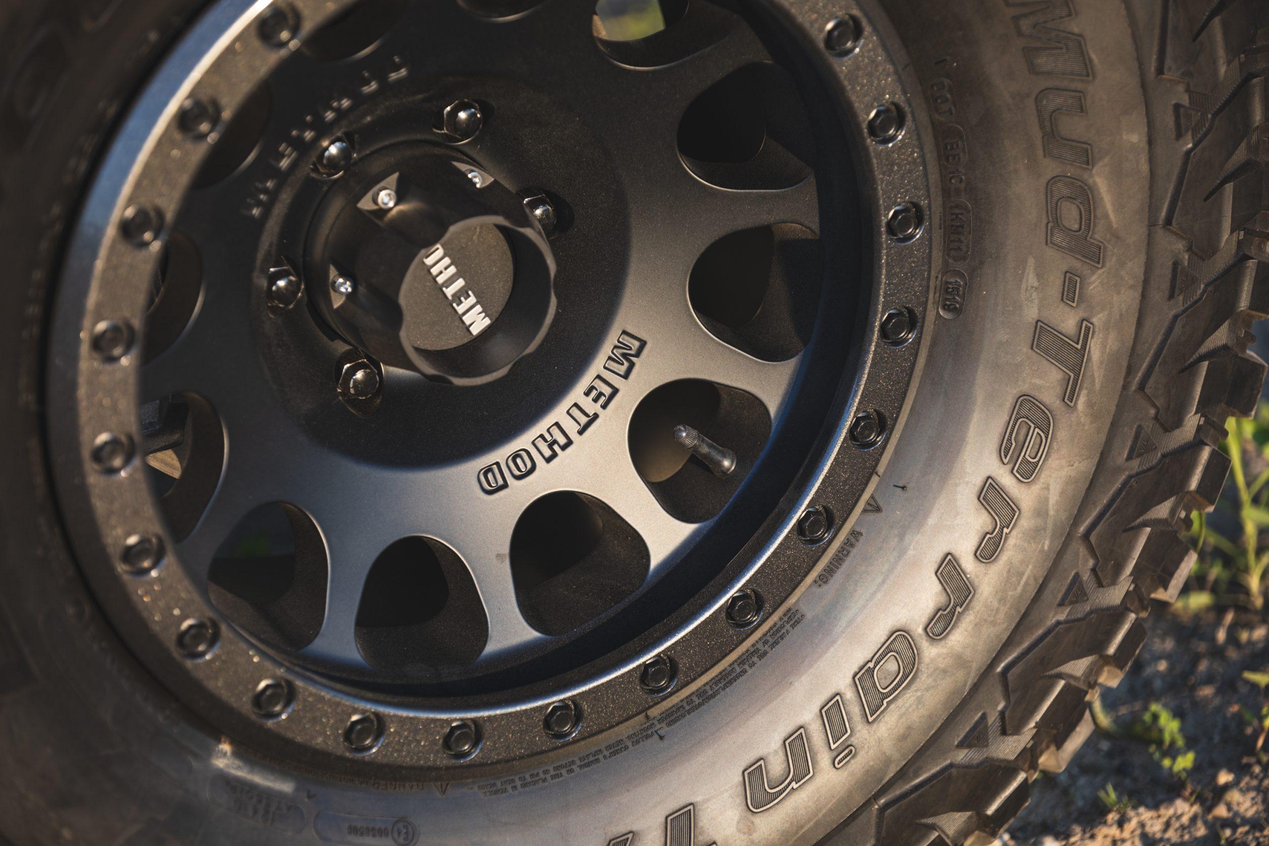 2021 Ford Bronco Two Door Method Wheel