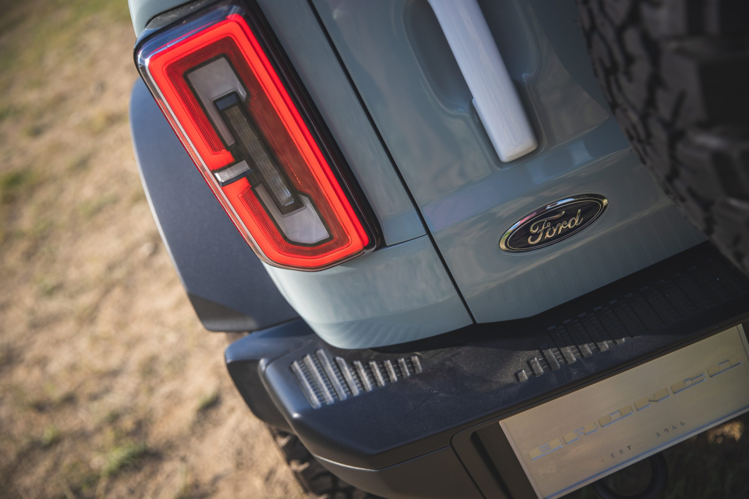2021 Ford Bronco Four Door Taillight