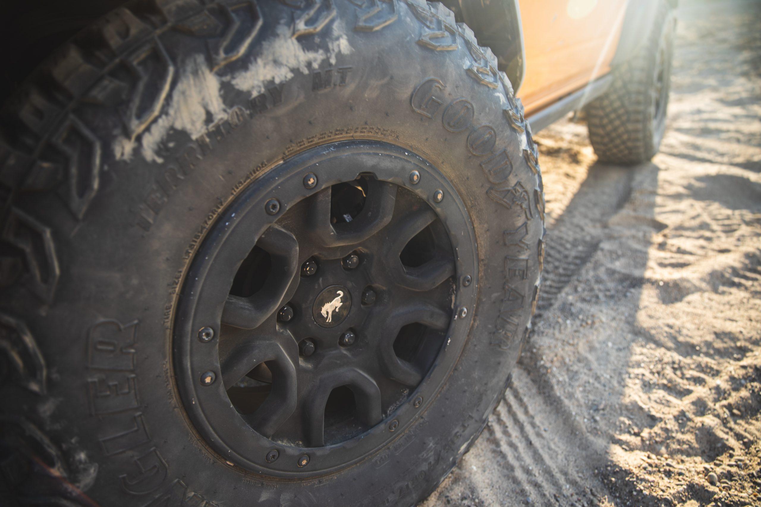 2021 Ford Bronco Two Door Wheel