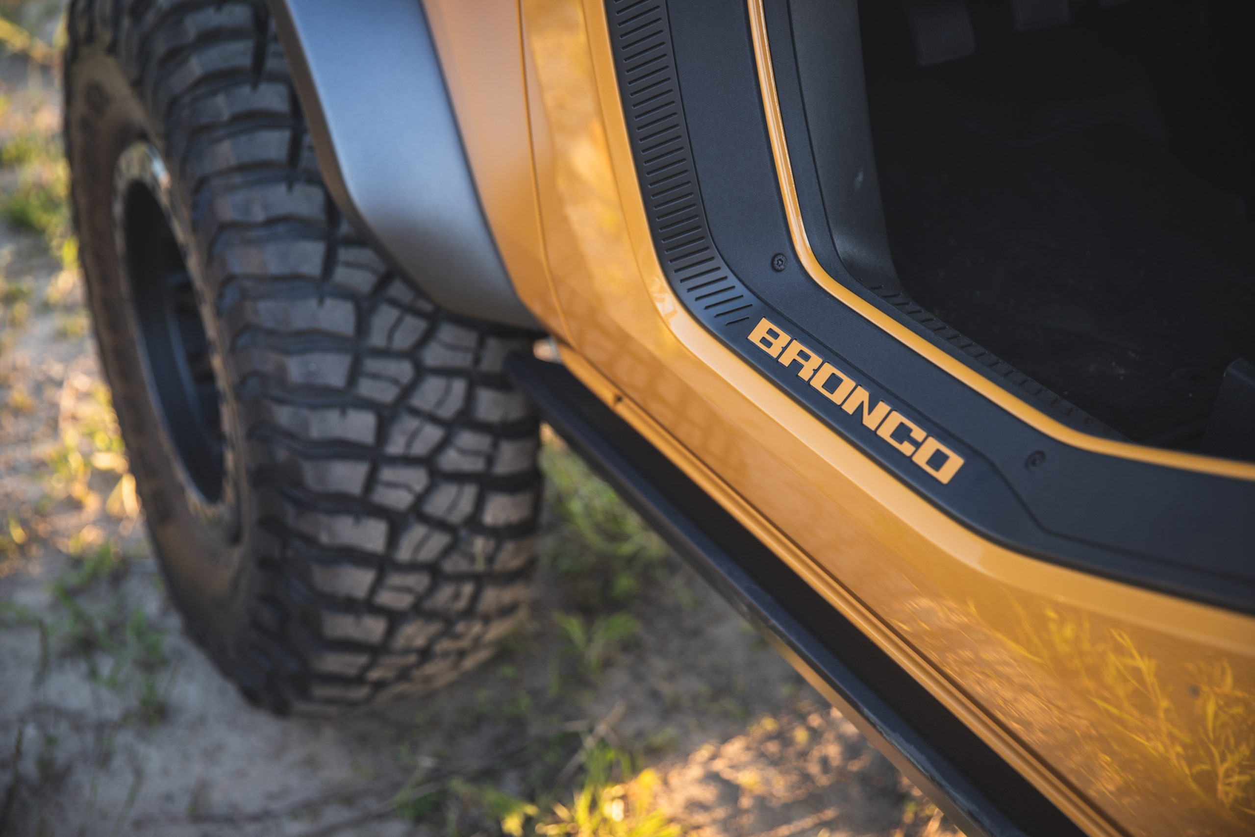 2021 Ford Bronco Two Door Lettering Detail