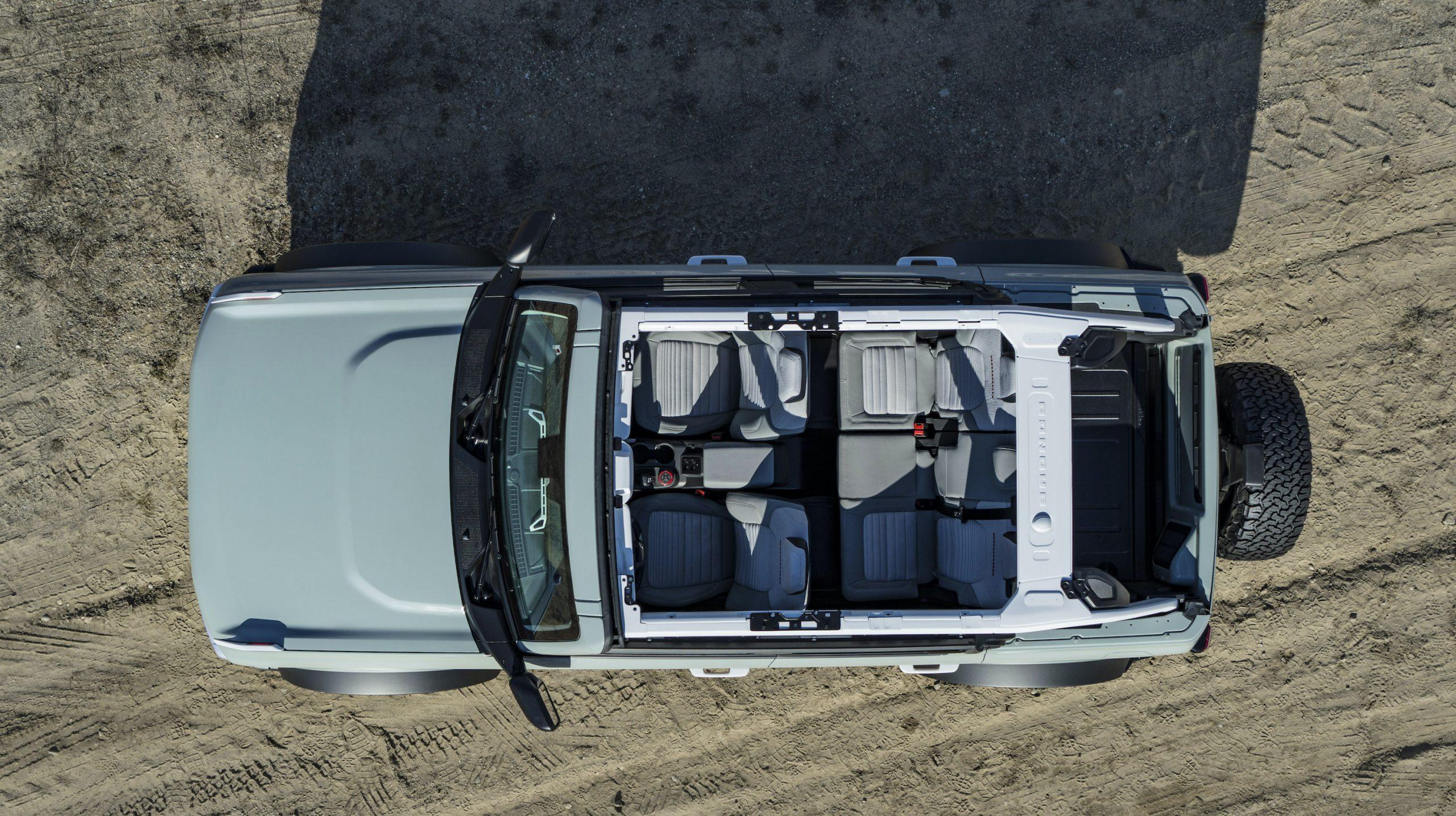 2021 Ford Bronco Four Door Overhead