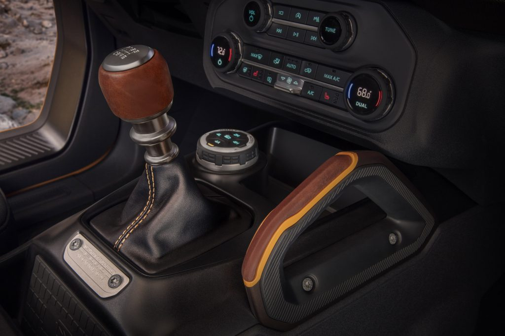 2021 Ford Bronco Two Door Shifter Gear Select