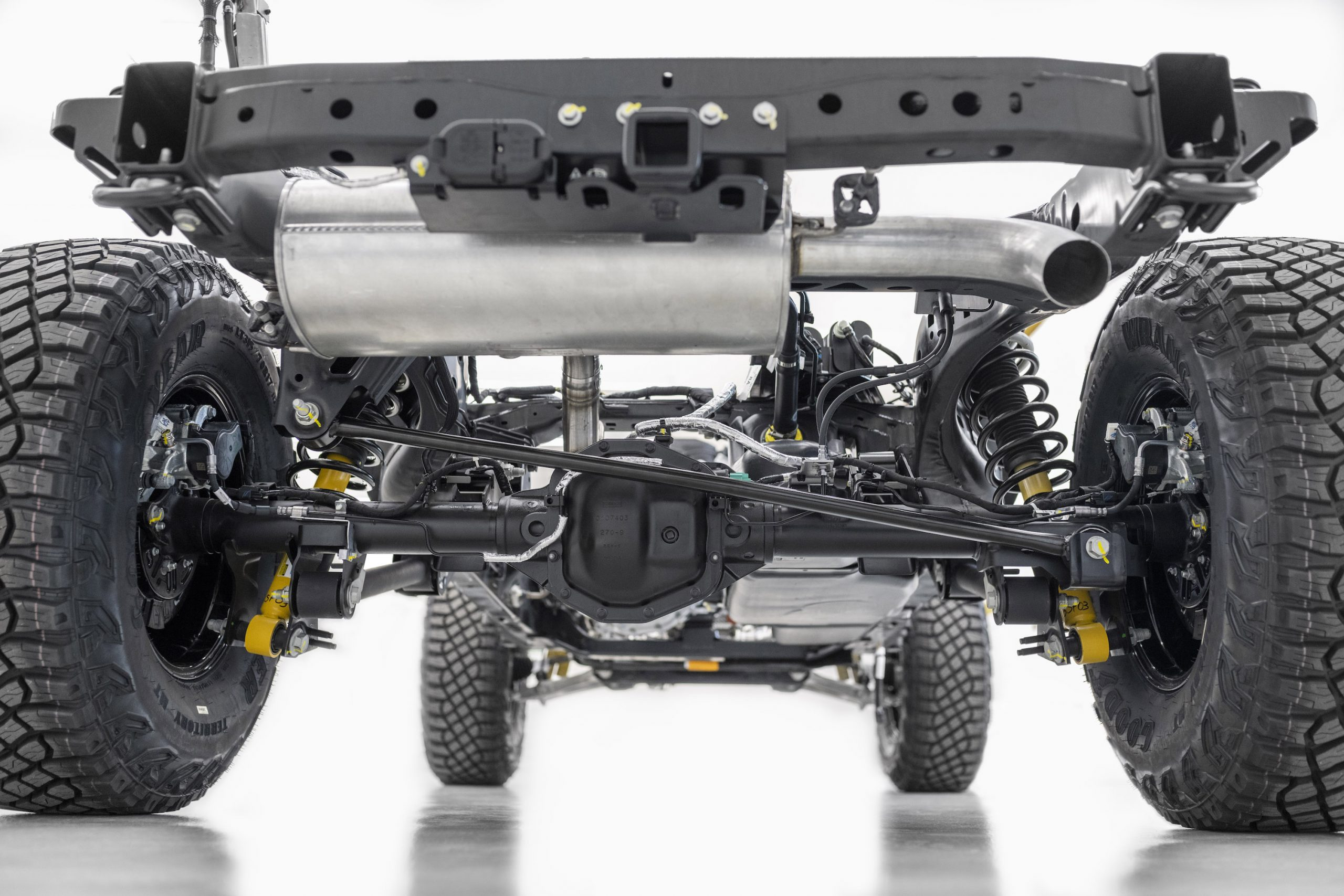 2021 Ford Bronco Chassis Rear