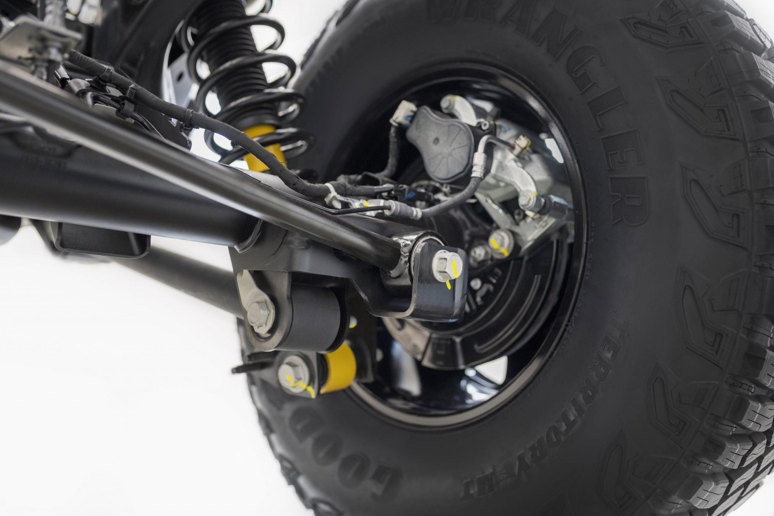 2021 Ford Bronco Shocks Arms Brakes