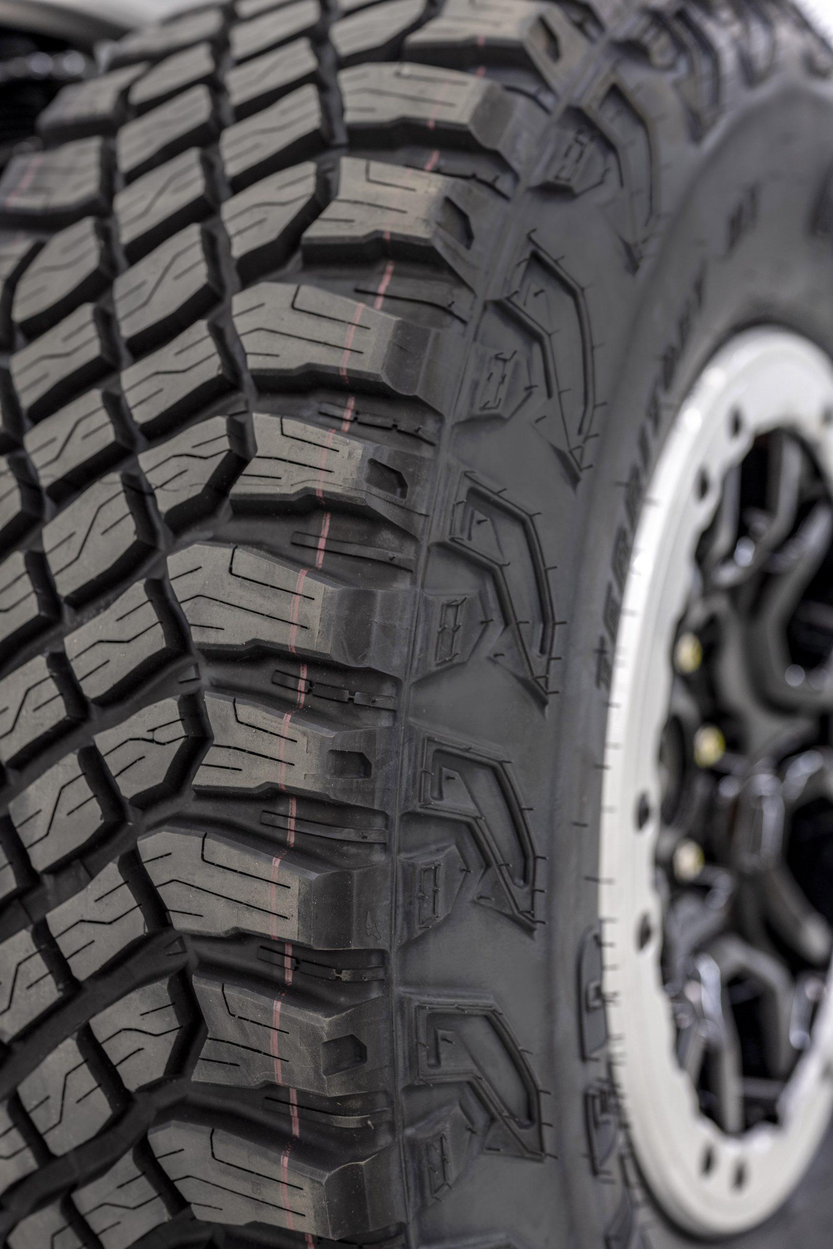 2021 Ford Bronco Beadlock Wheel And Tire