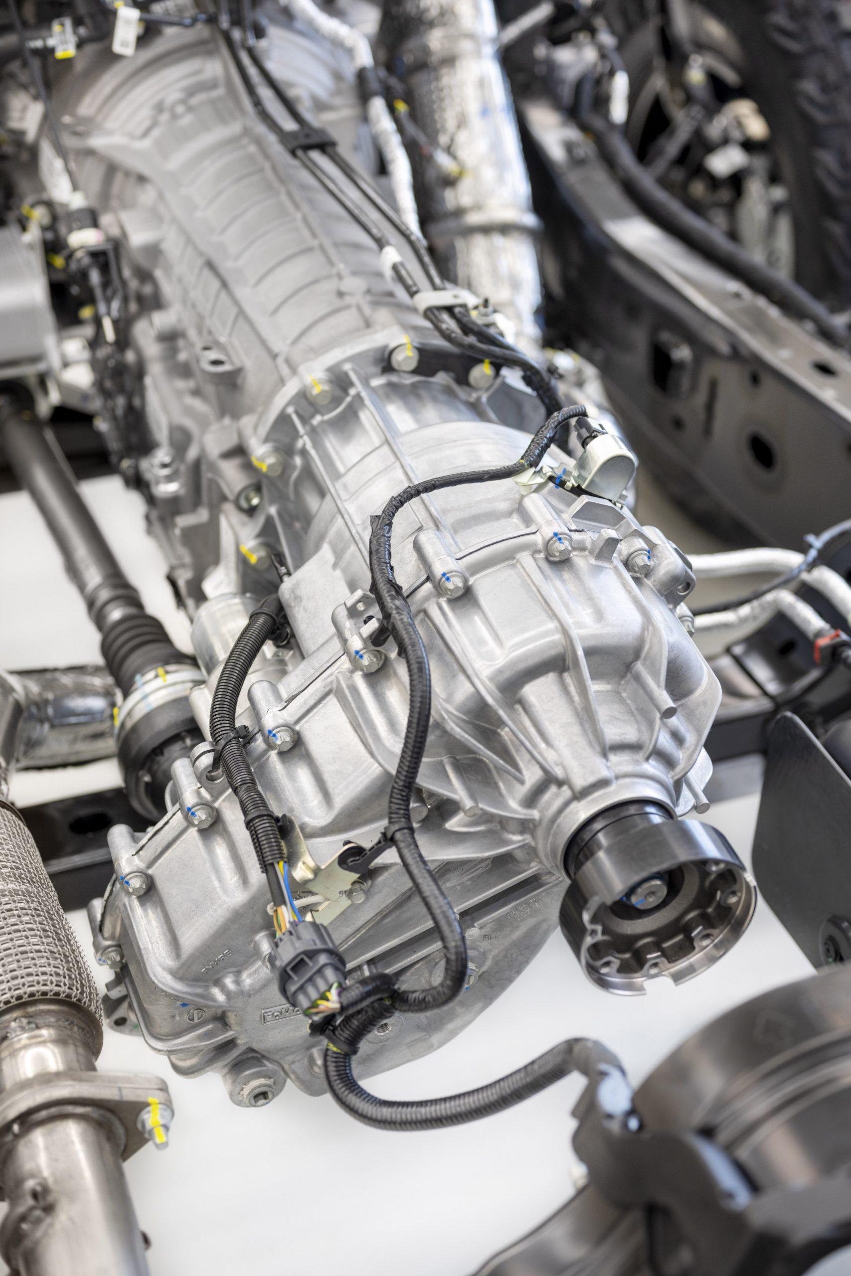 2021 Ford Bronco Transmission