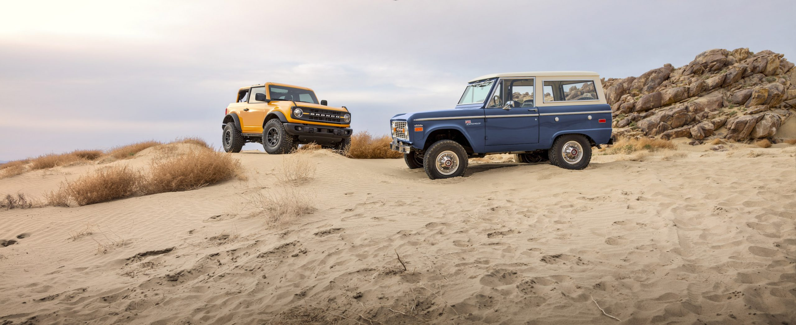 2021 Ford Bronco Past and Present
