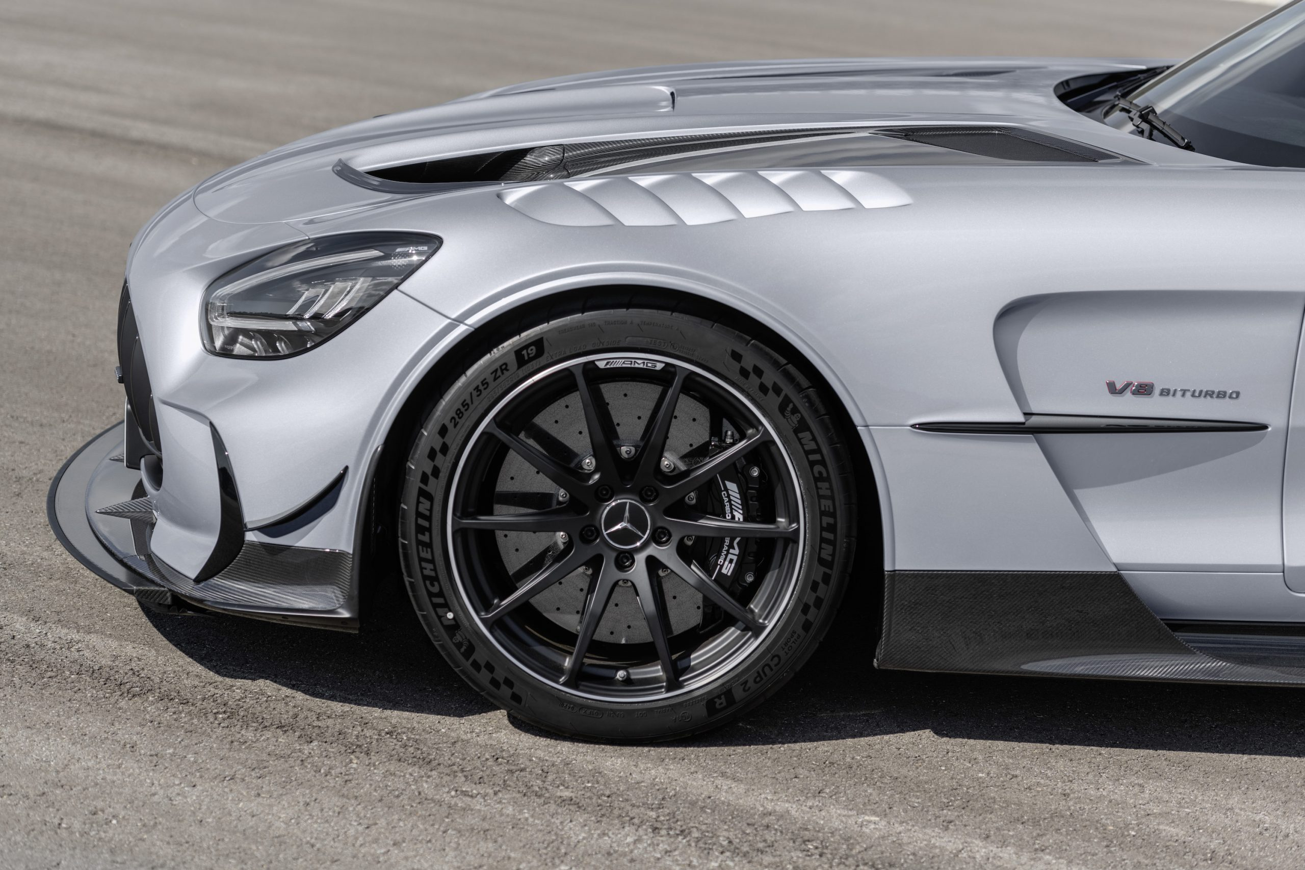 Mercedes-AMG GT Black Series Front Side Profile