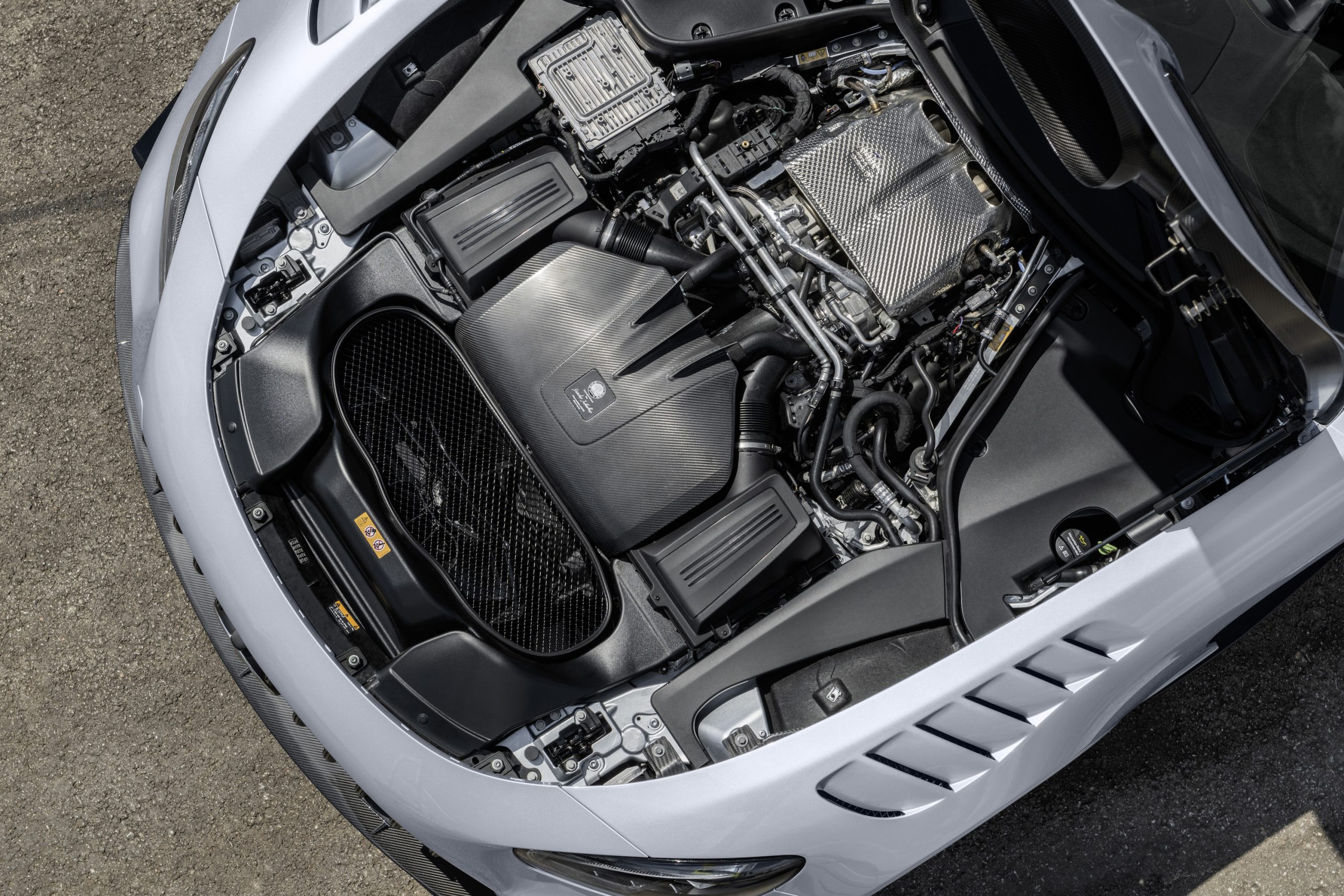 Mercedes-AMG GT Black Series Engine Overhead