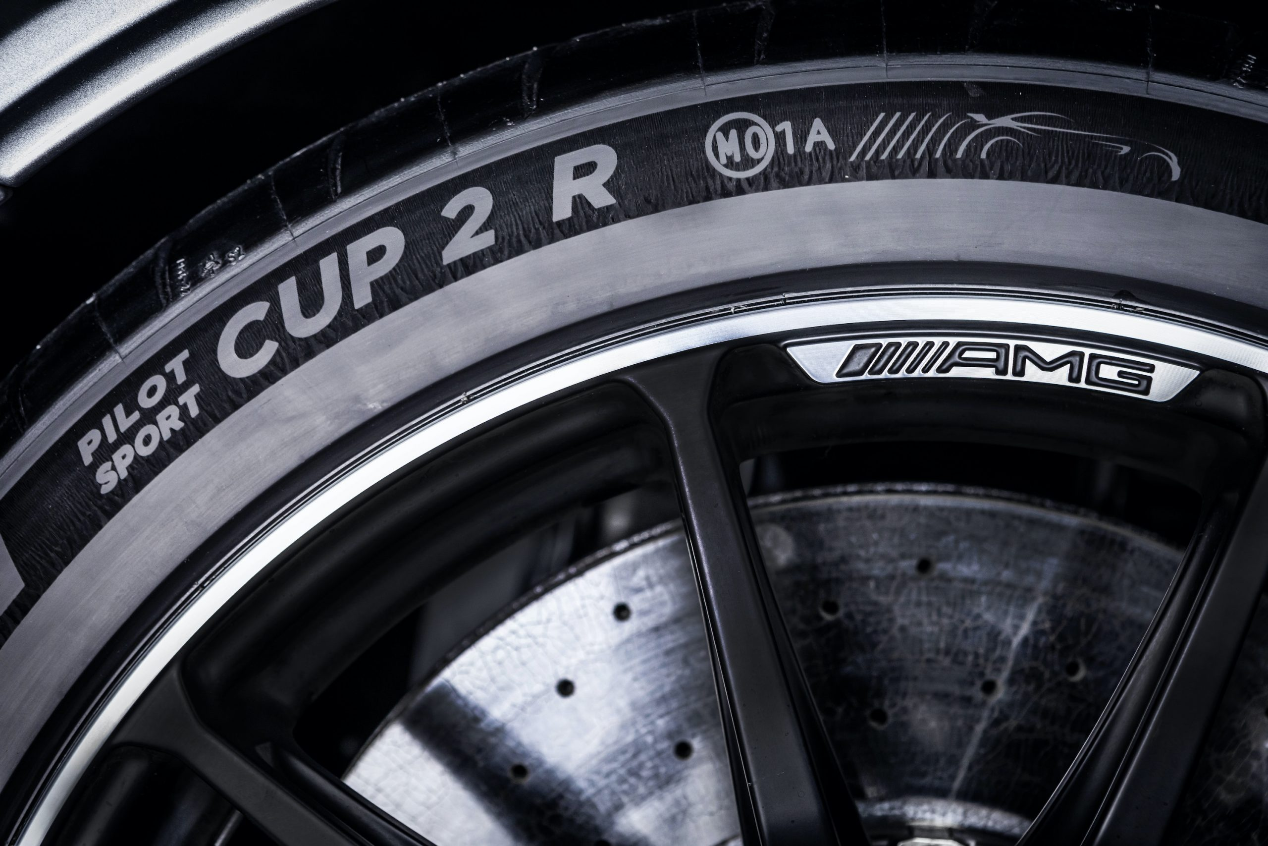 Mercedes-AMG GT Black Series Wheel Tire