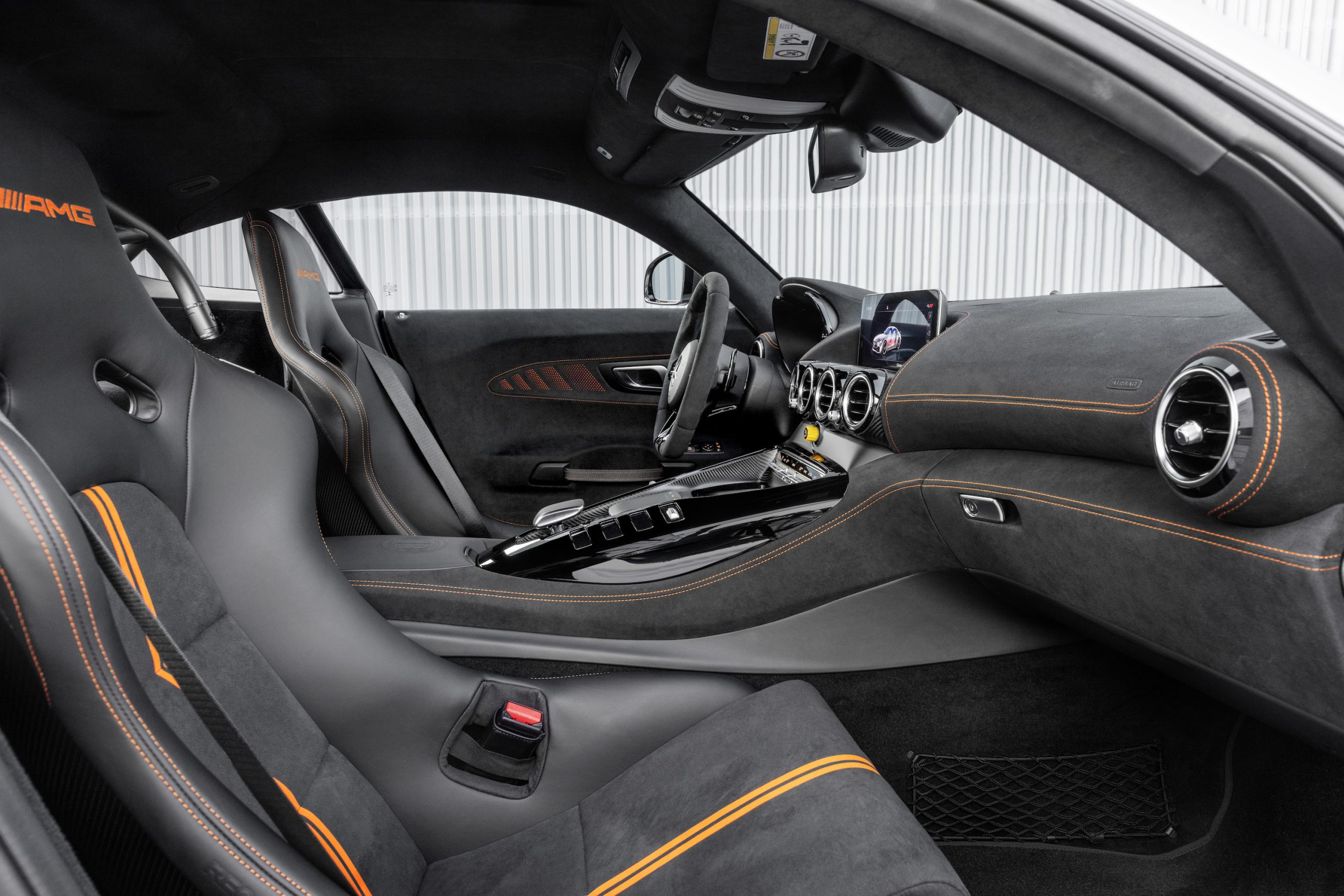 Mercedes-AMG GT Black Series Interior Front Angle