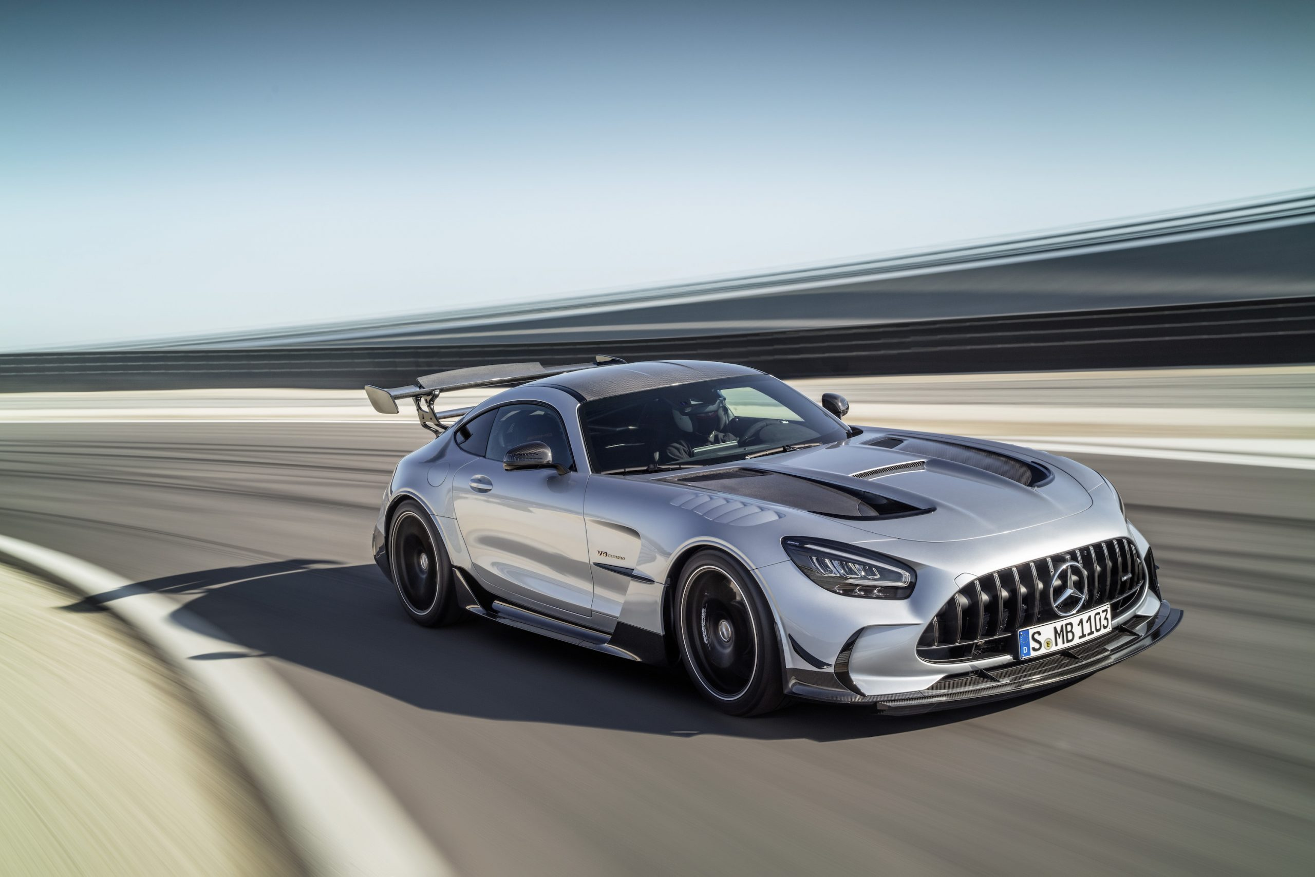 Mercedes-AMG GT Black Series Front Three-Quarter Action