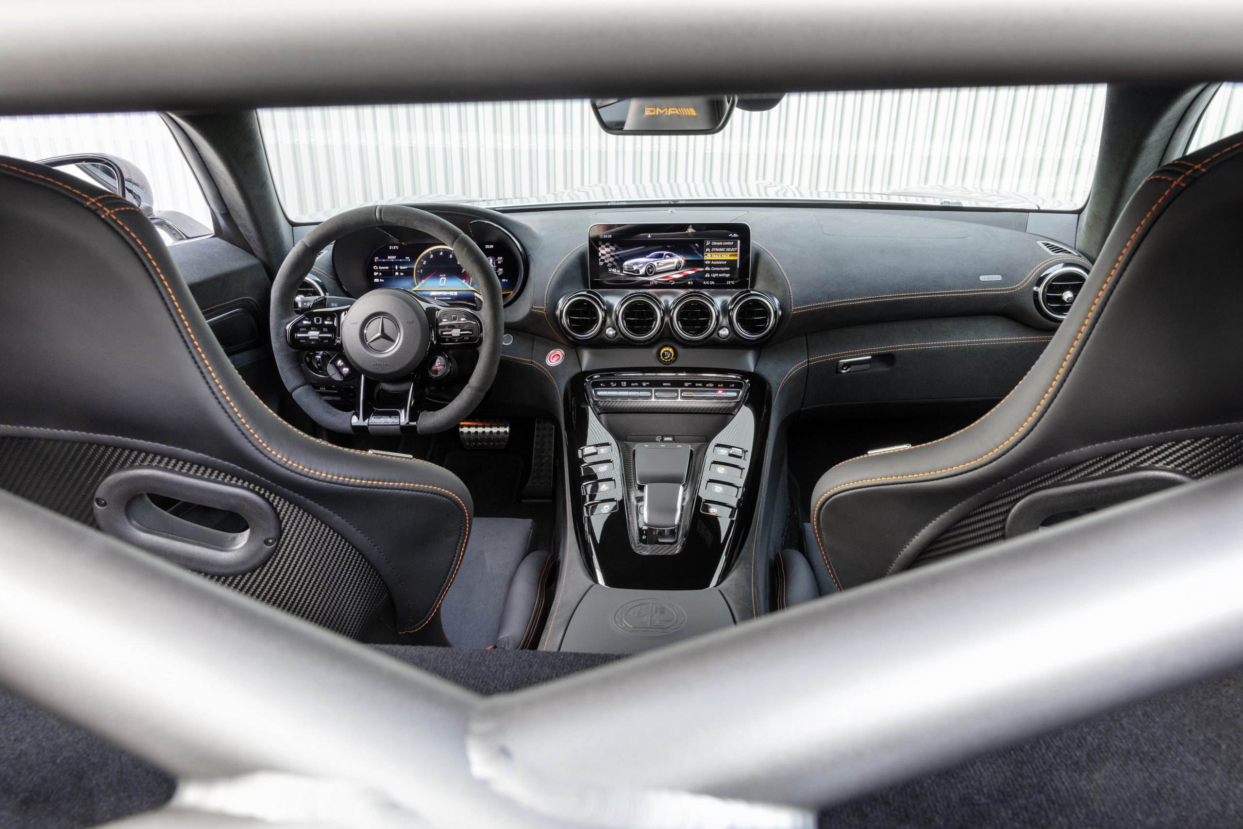 Mercedes-AMG GT Black Series Interior
