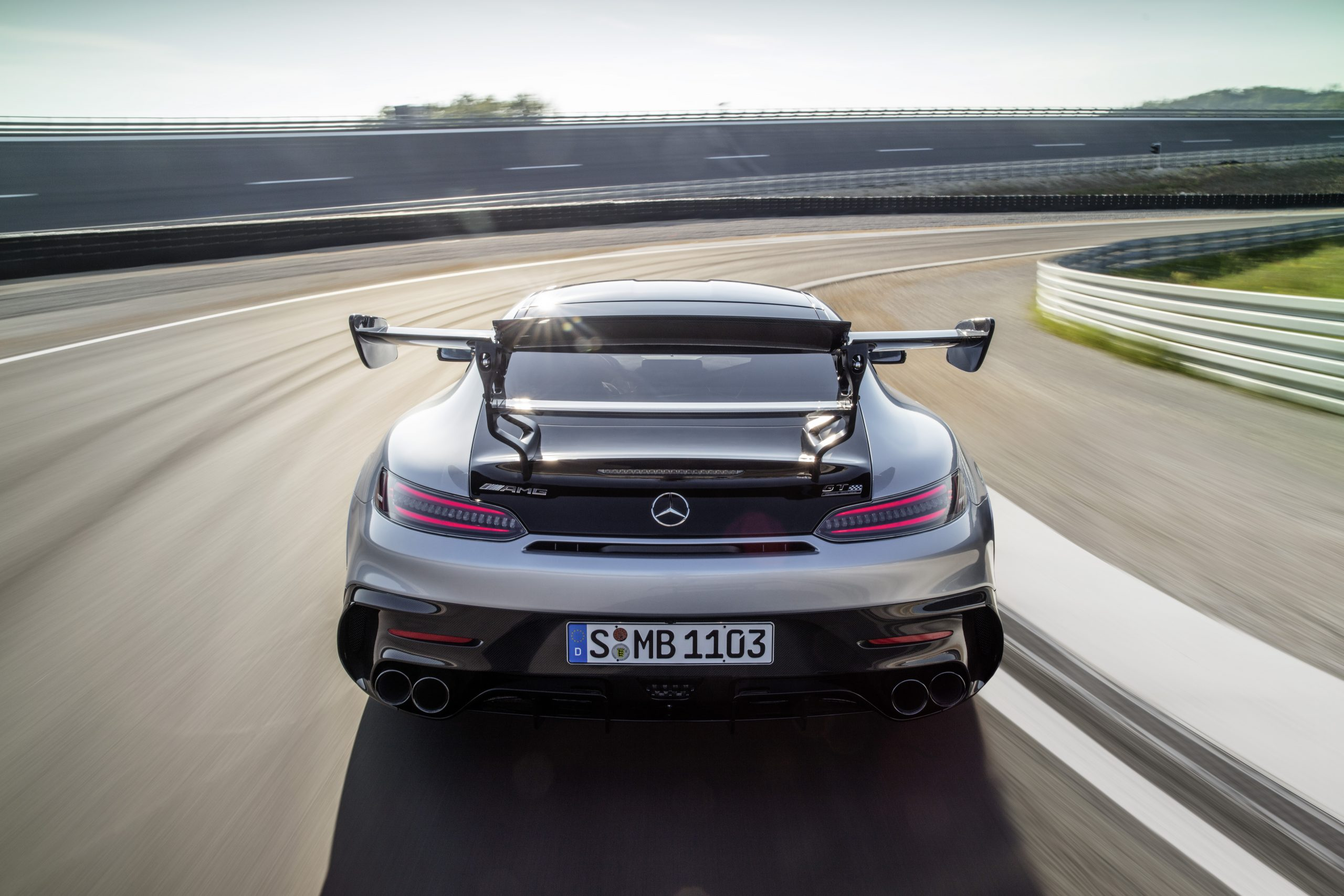 Mercedes-AMG GT Black Series Rear Action