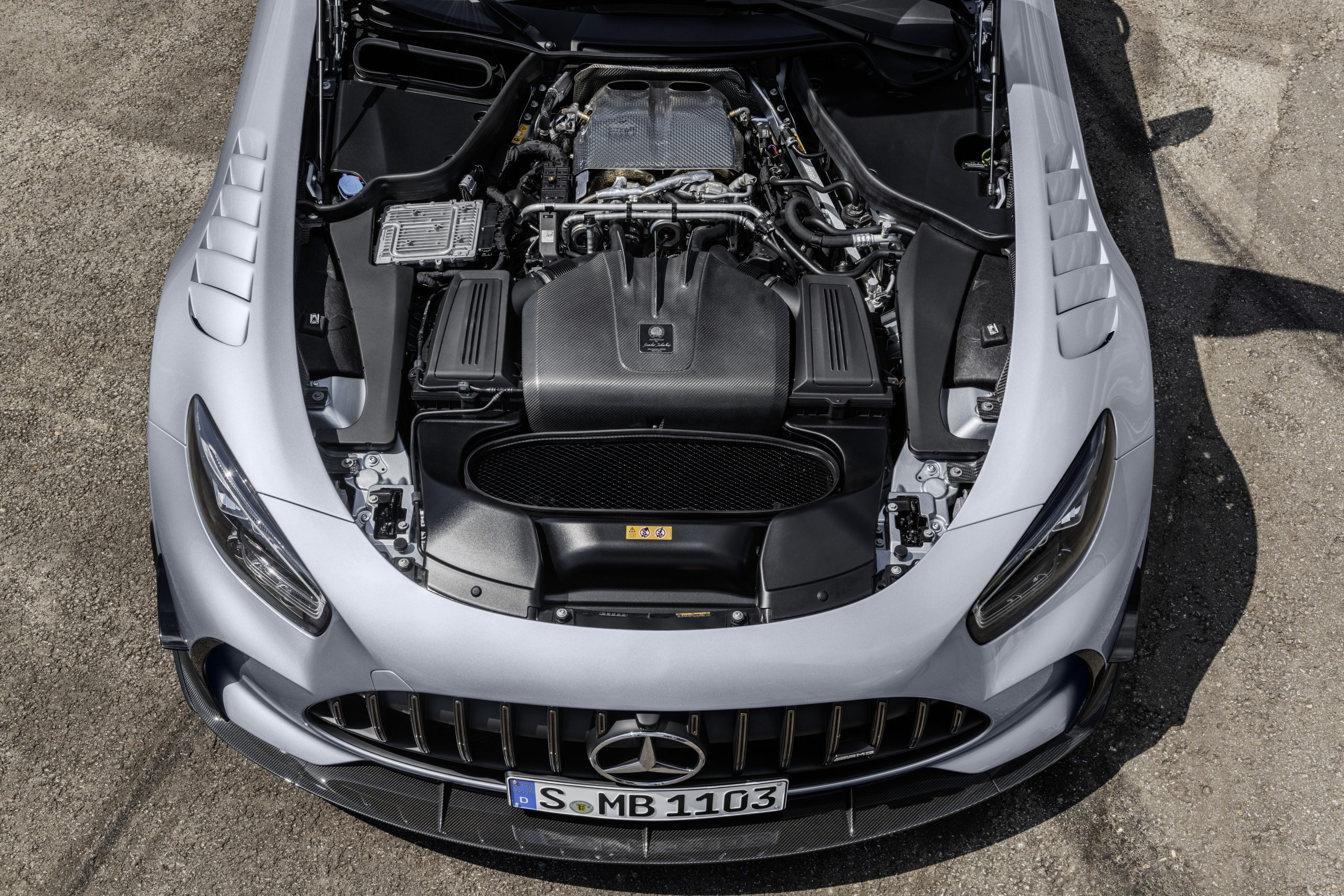 Mercedes-AMG GT Black Series Engine