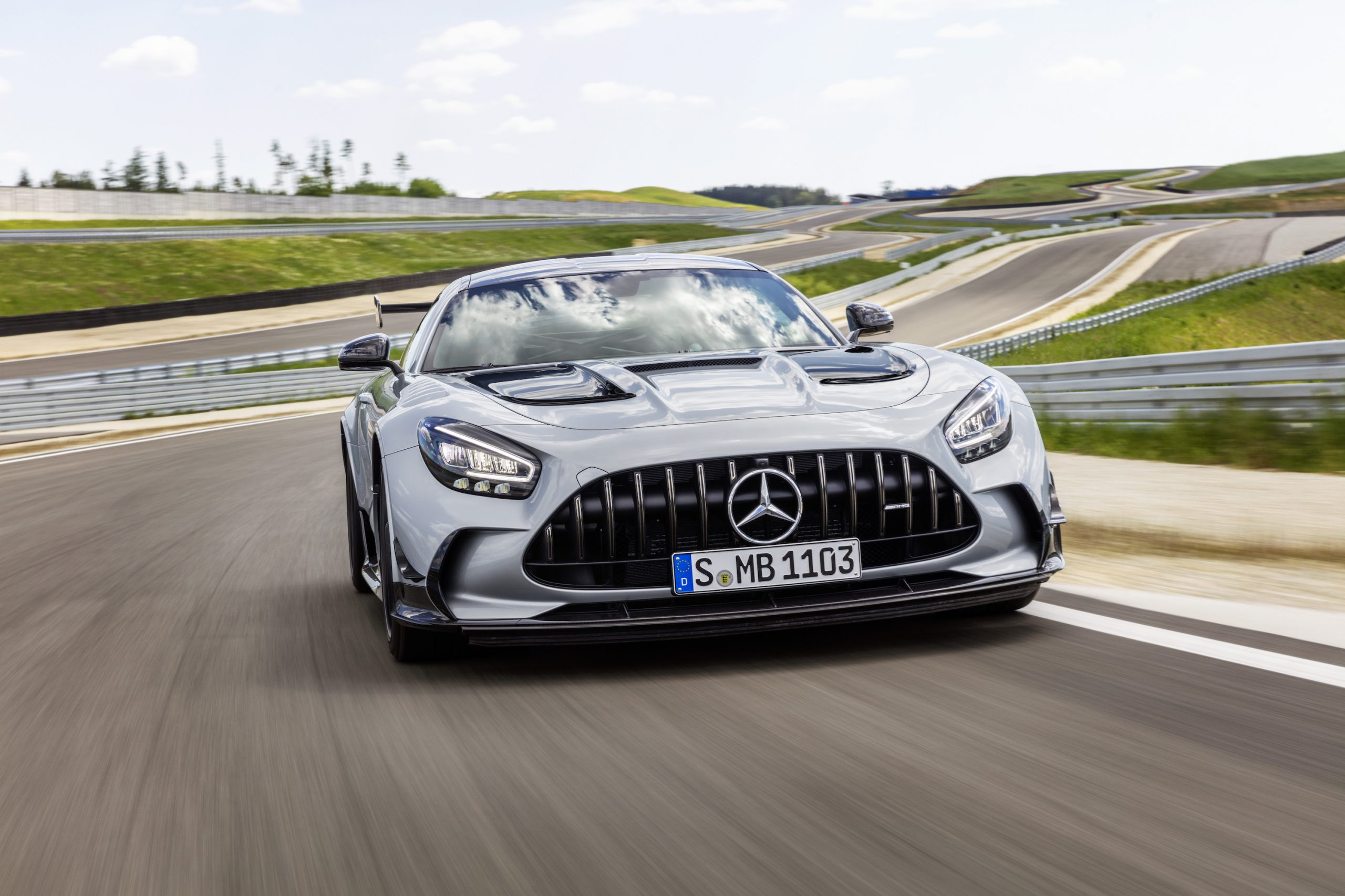 Mercedes-AMG GT Black Series Front Action