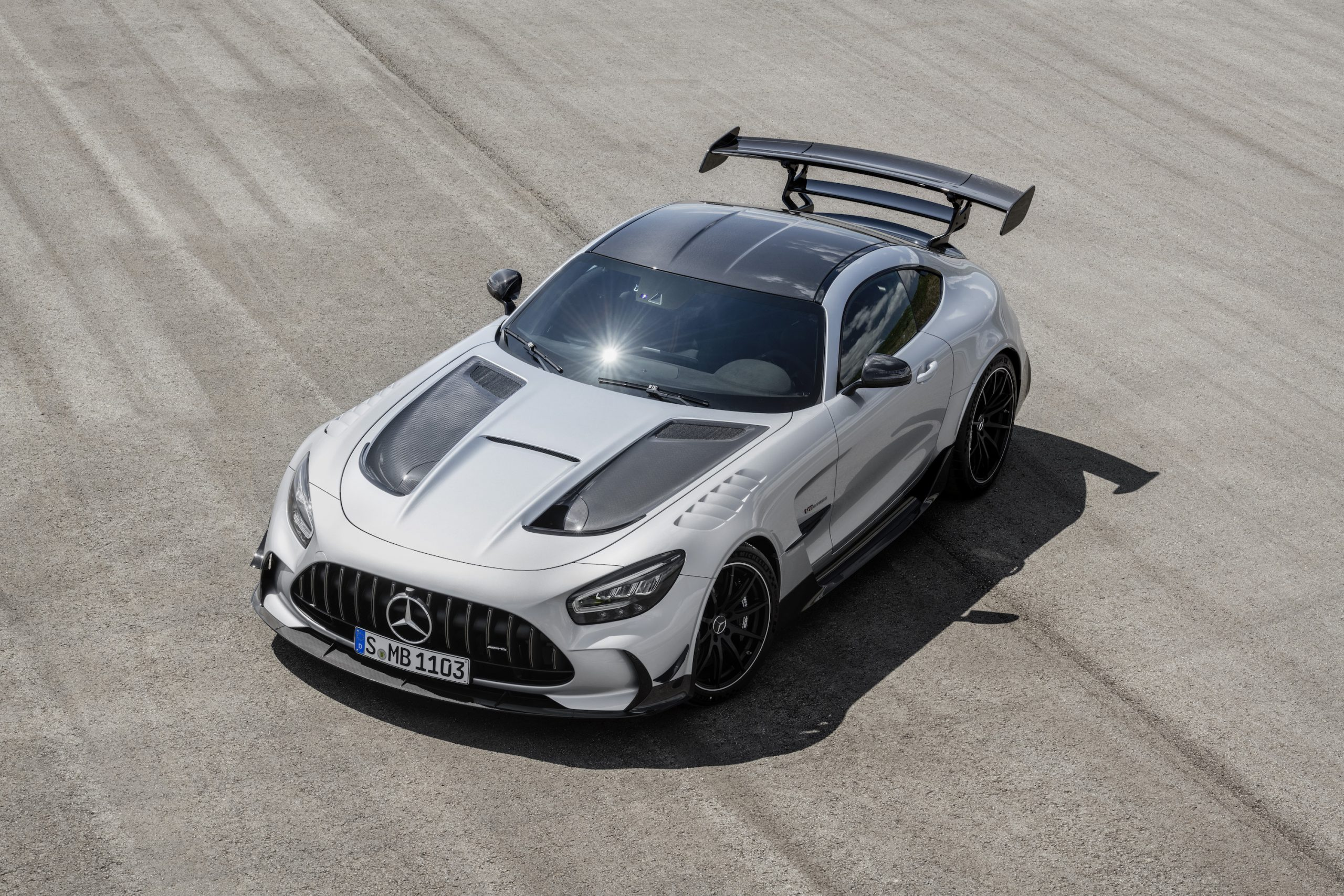Mercedes-AMG GT Black Series Front Three-Quarter