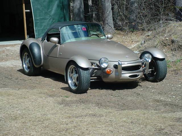 This Panoz Roadster packs impressive provenance in unobtainum brown