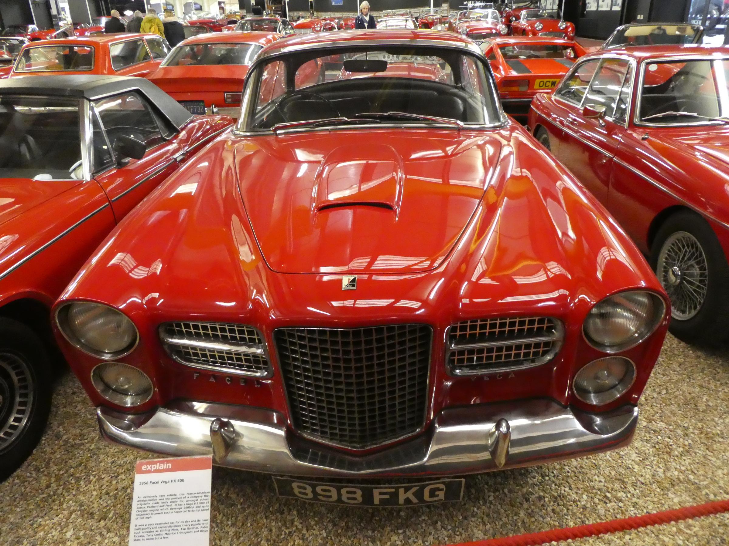 Red Room Facel Vega HK500 front