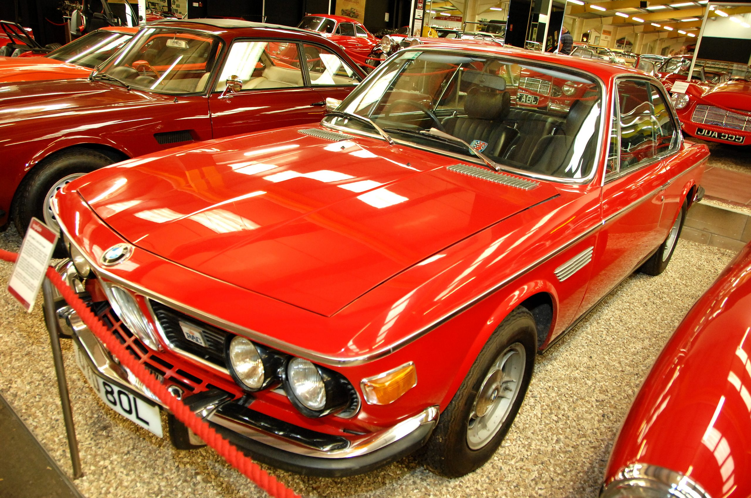 Red Room BMW 3-Litre CSi Coupe front three-quarter
