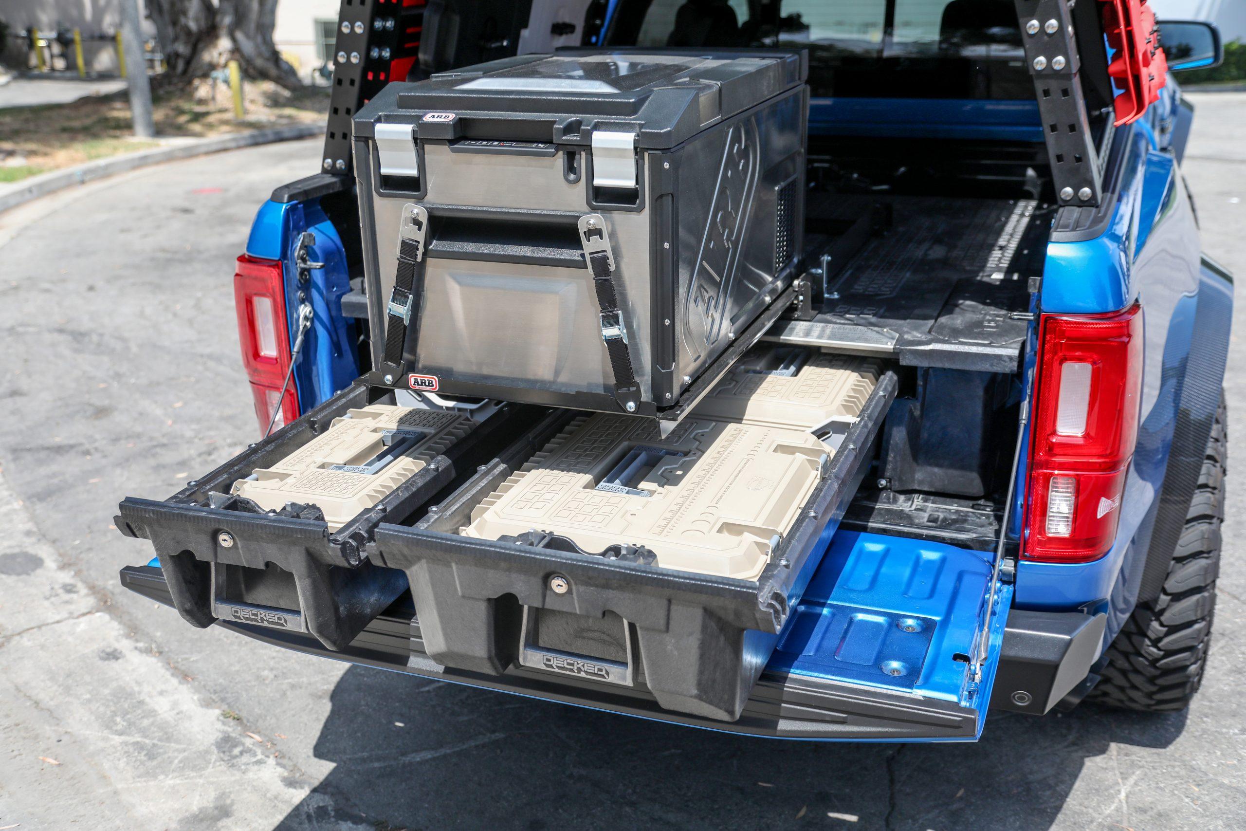 APG Ford Ranger Prorunner overlanding ARB cooler bed storage