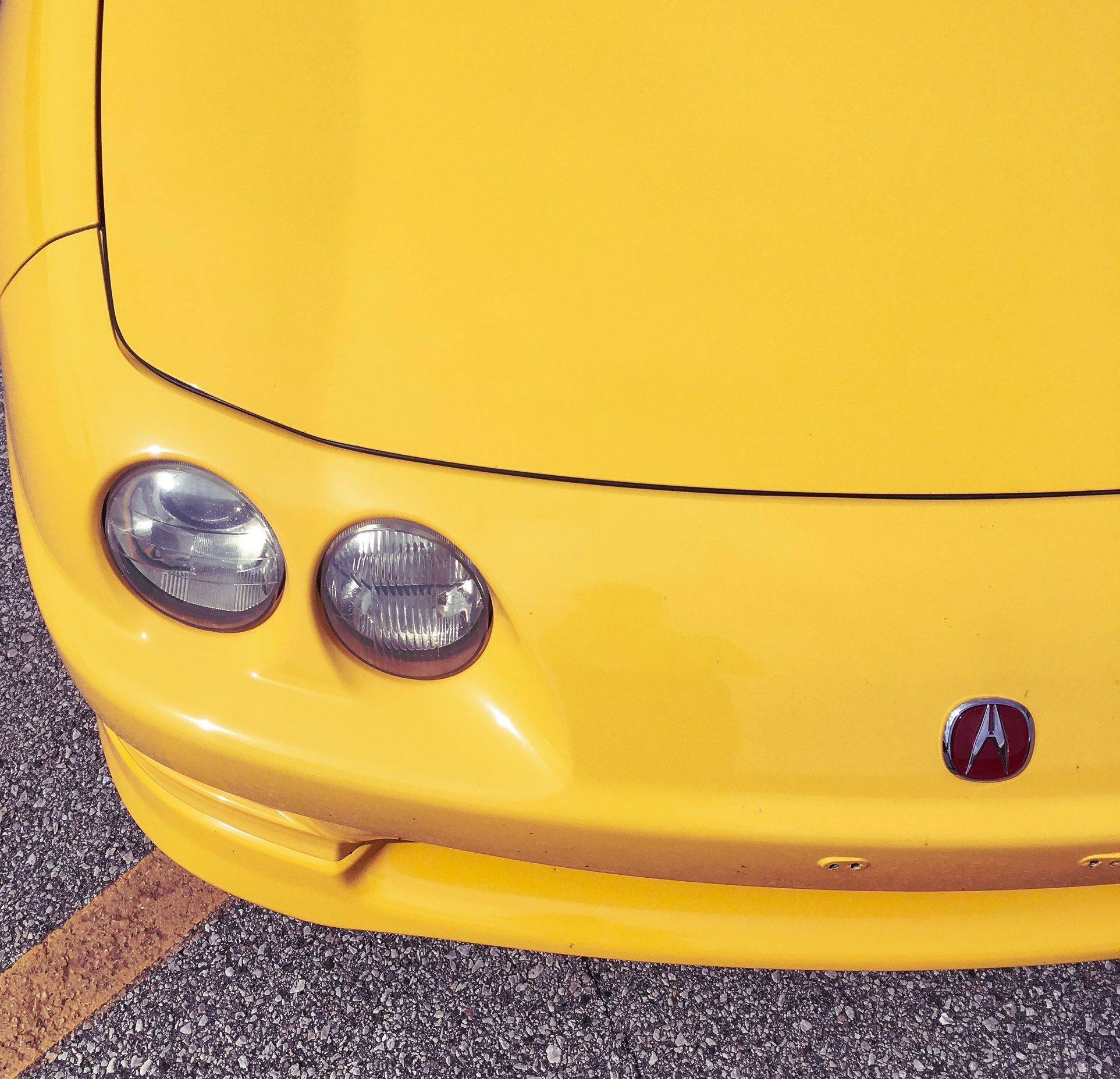 Acura Integra Type R front headlight