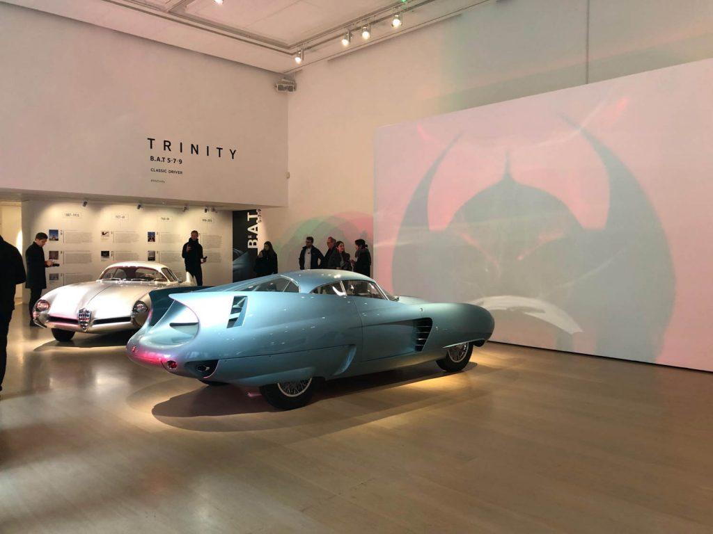 Alfa BAT Car Gallery Display