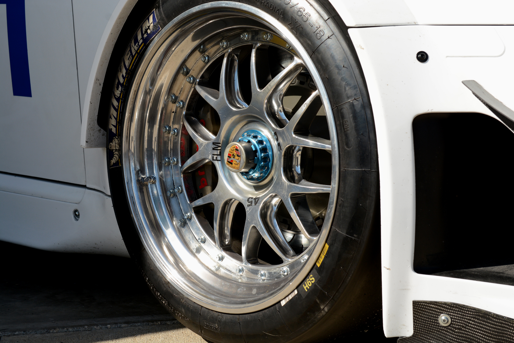 bbs porsche wheel close up