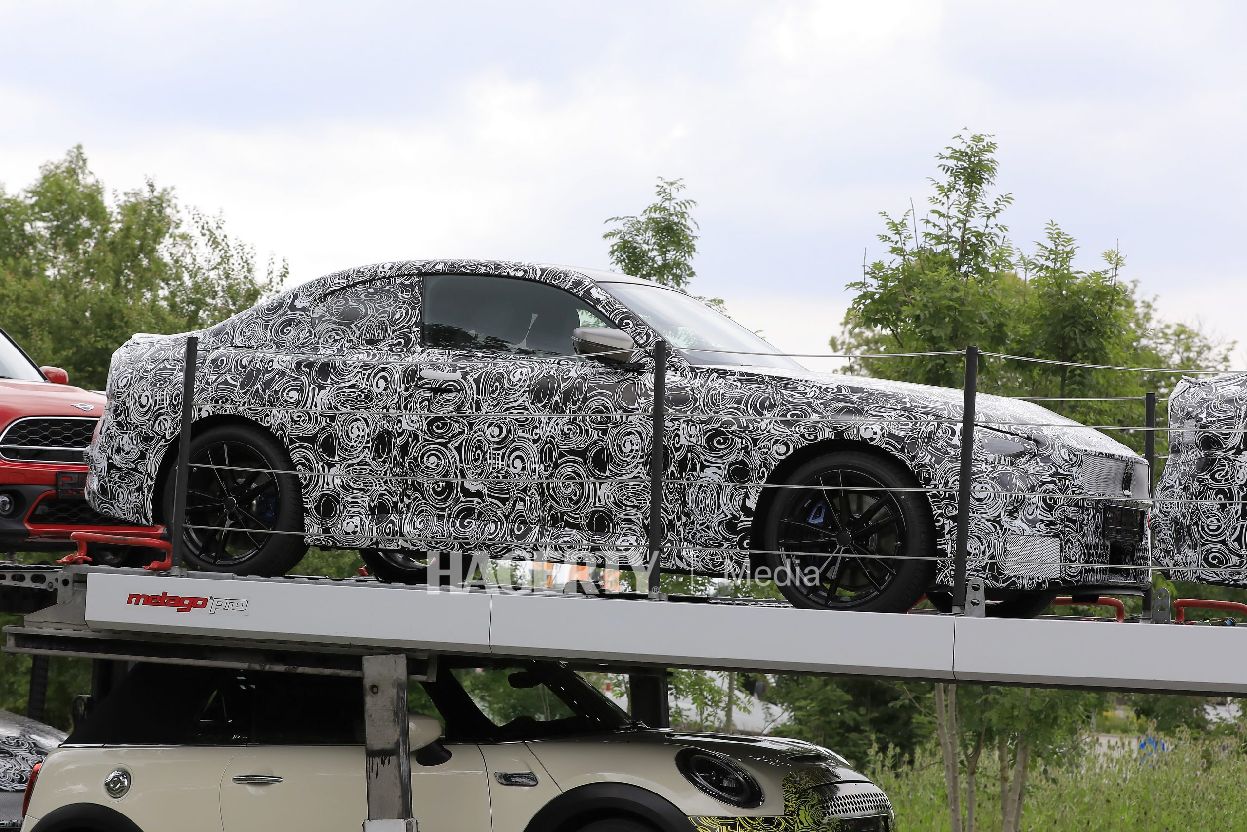 BMW 2 Series Coupe On Hauler 5