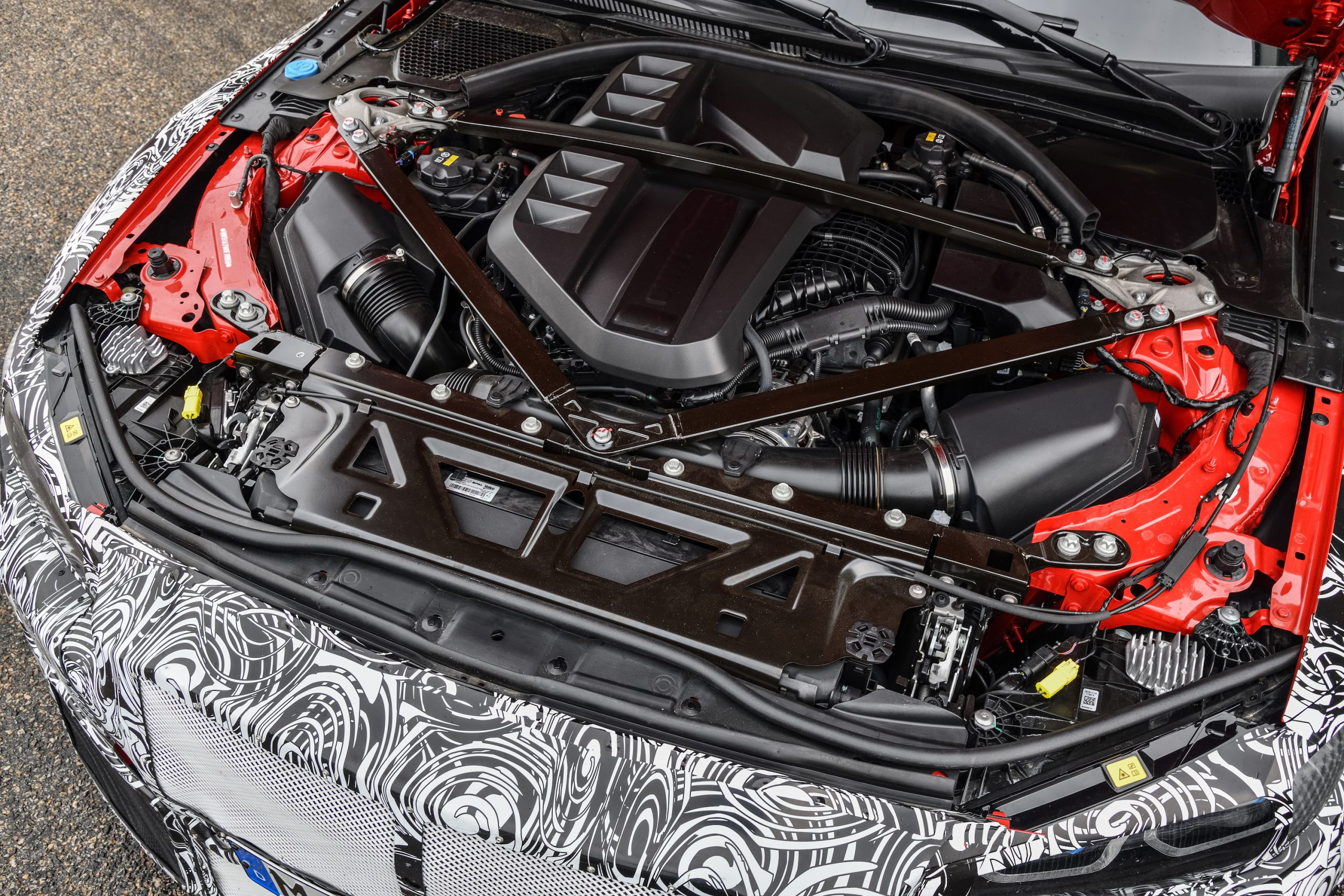 BMW M4 Coupe Engine Bay