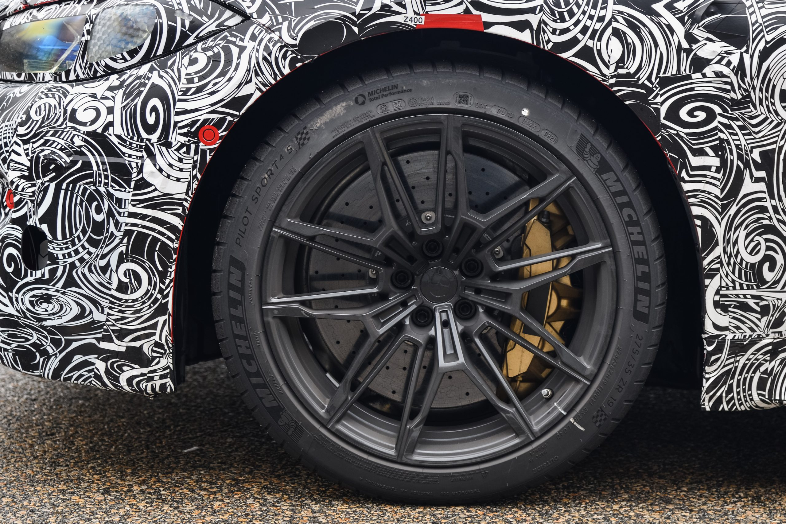 BMW M4 Coupe Wheel Tire Caliper
