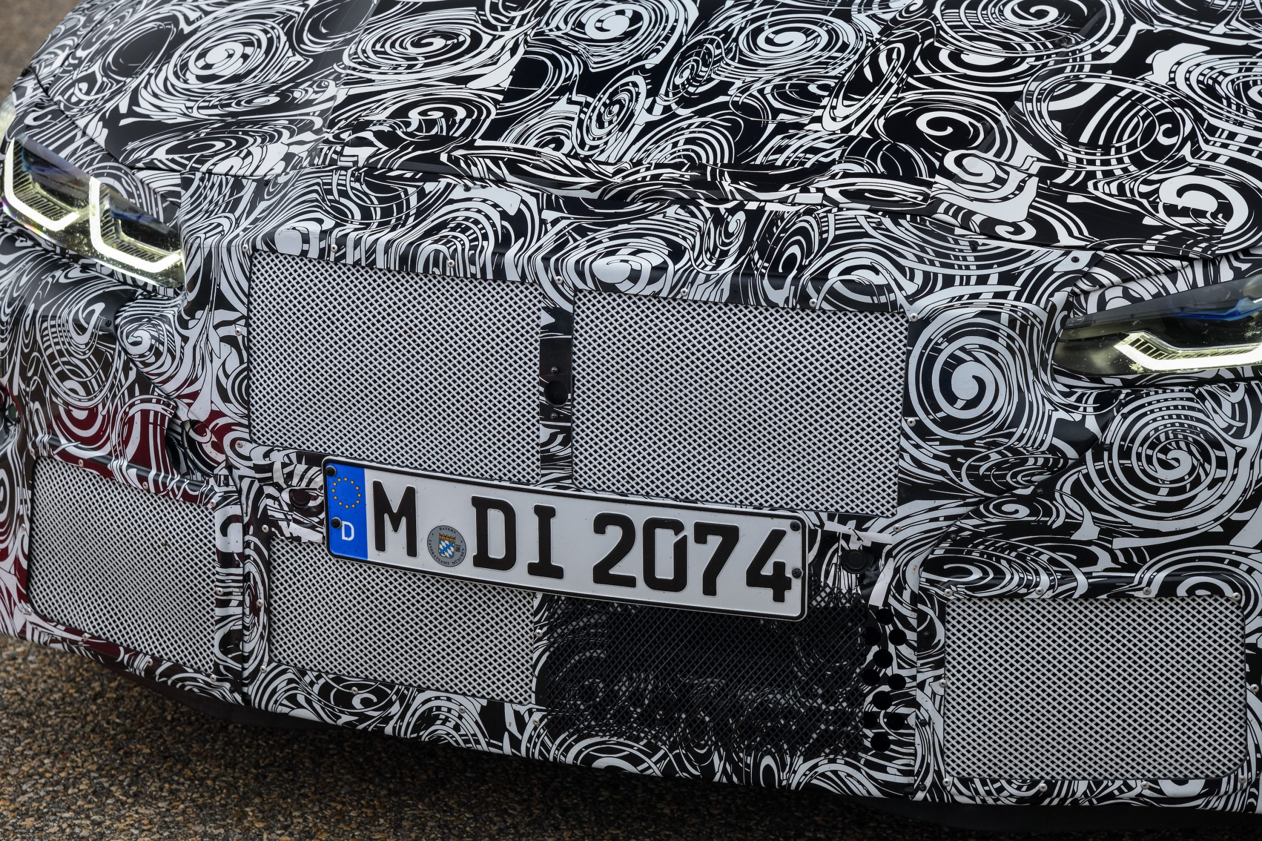 BMW M4 Coupe Front Grille