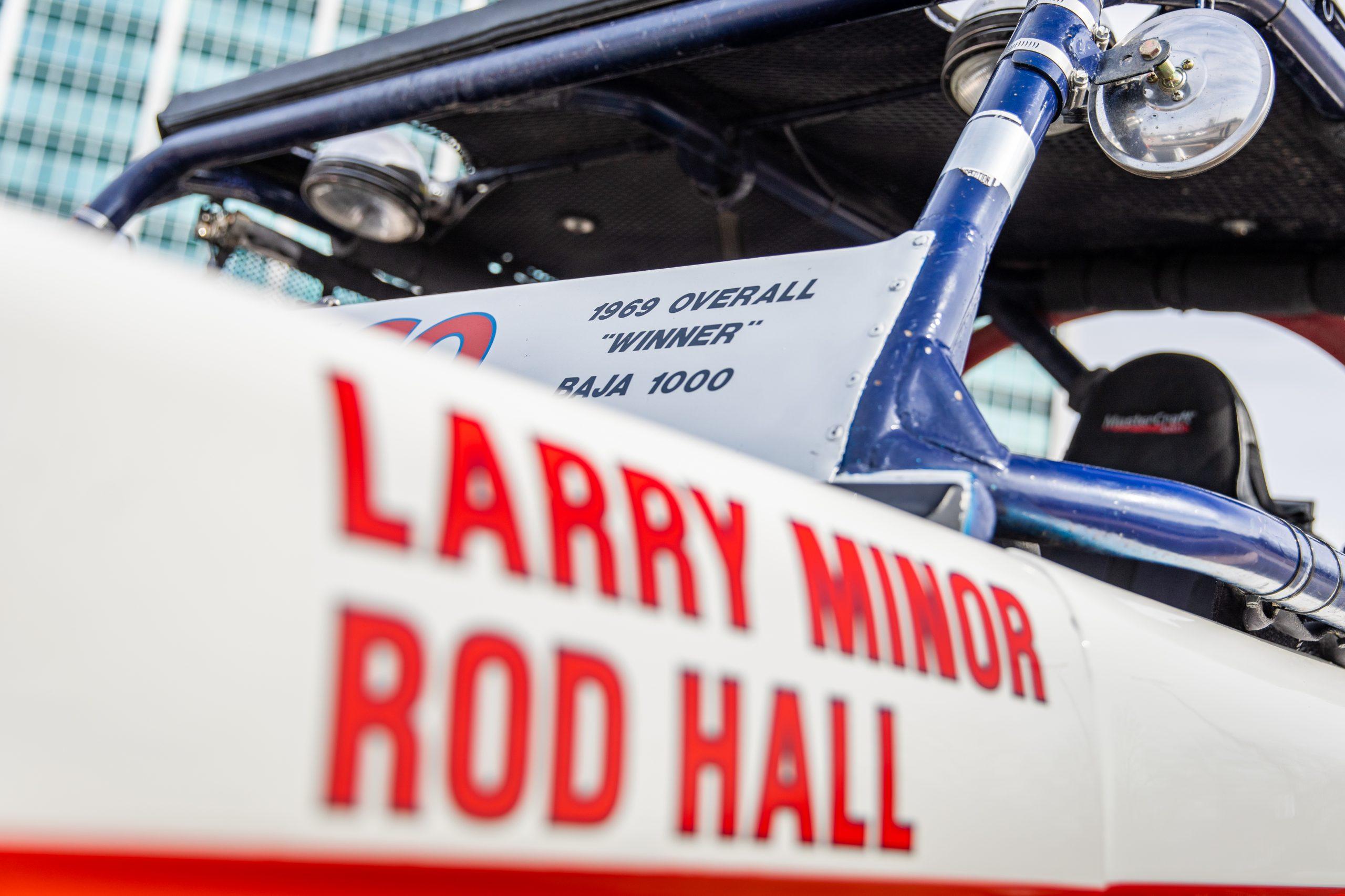 Larry Minor Rodd Hall Baja racing Bronco