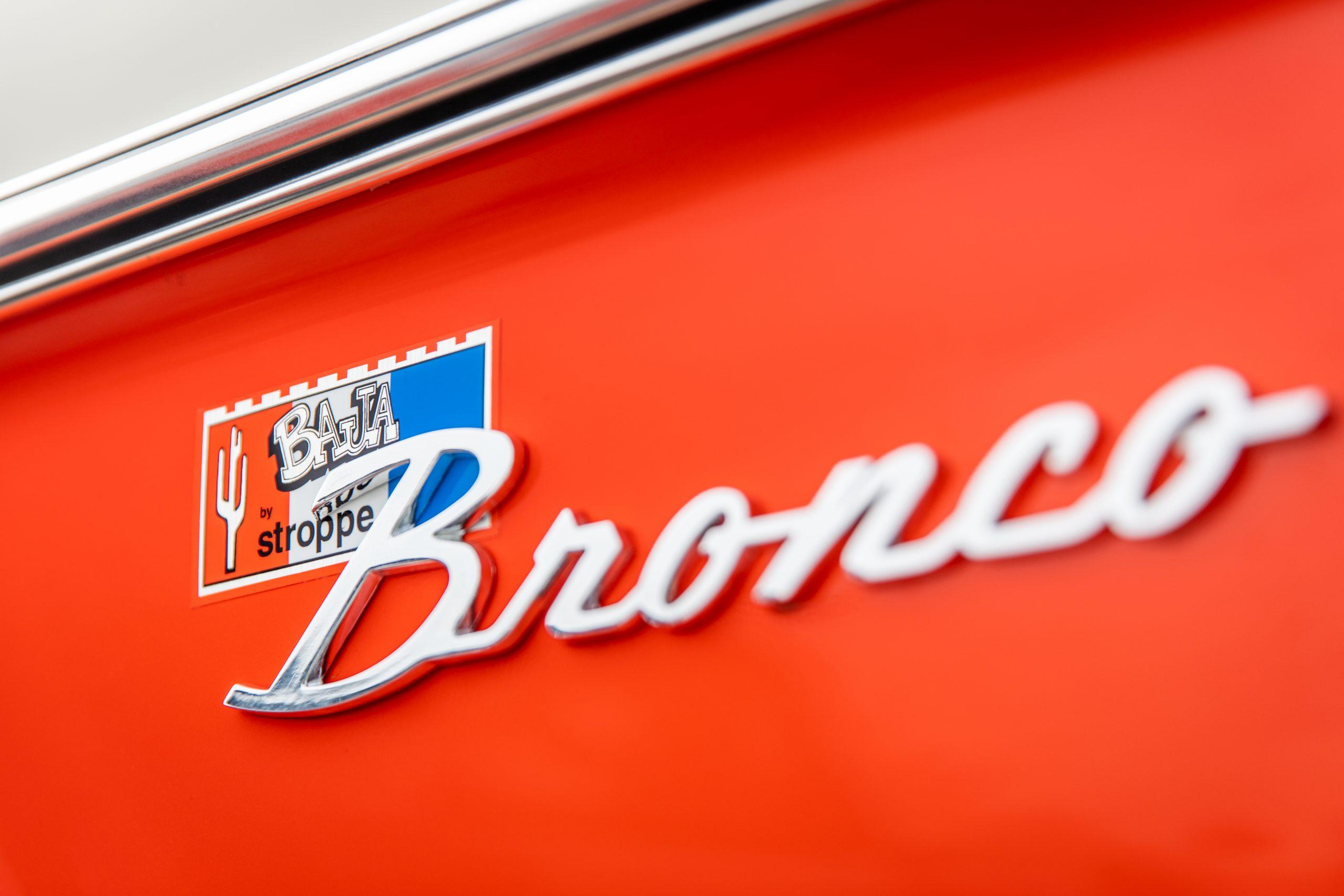 Stroppe Bronco Emblem