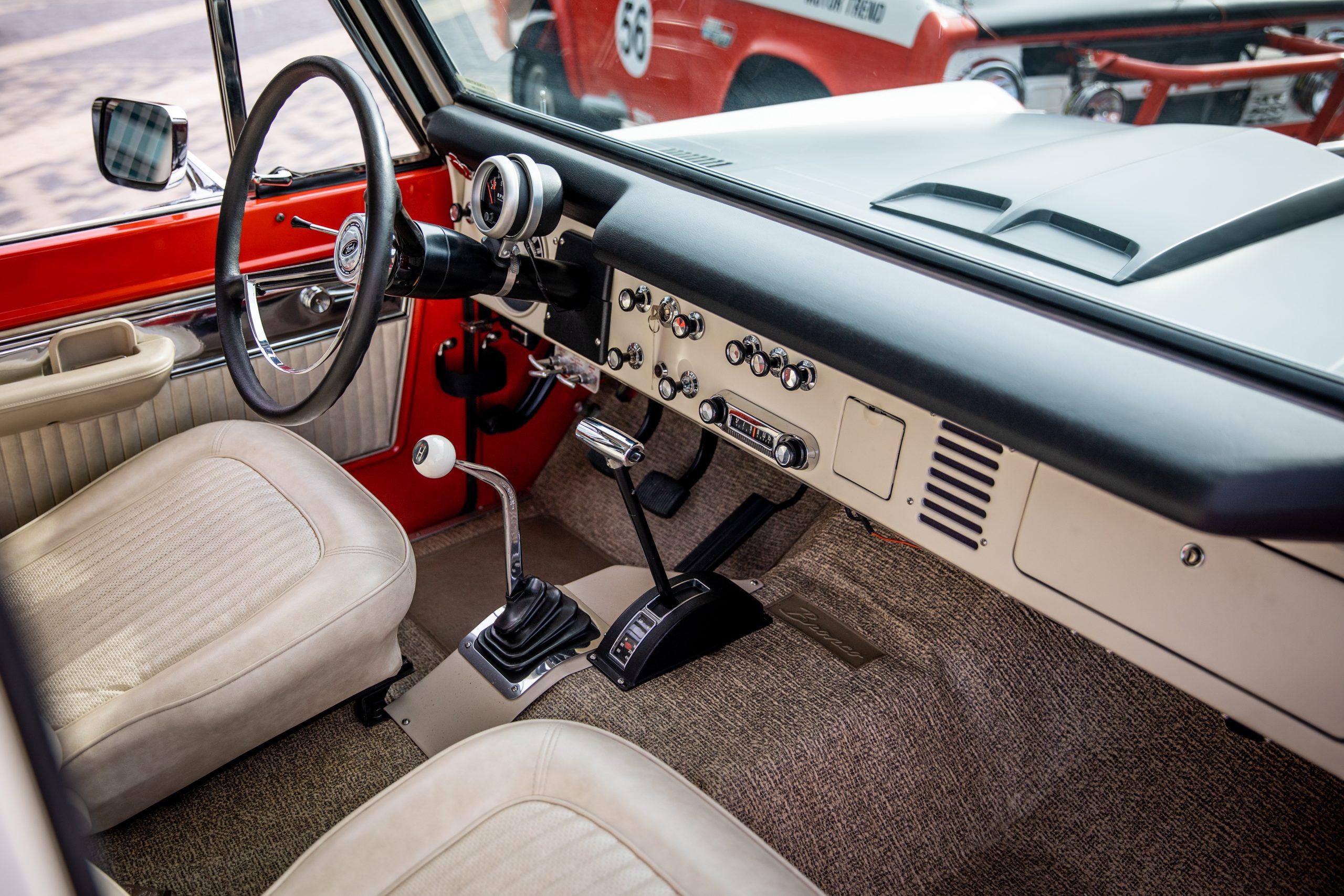 Bill Stroppe Ford Bronco Interior