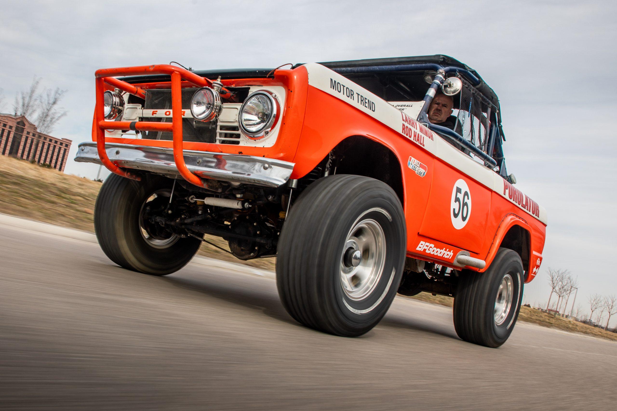 Rod Hall Ford Bronco Racing