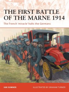 Battle of the Marne 1914 book cover