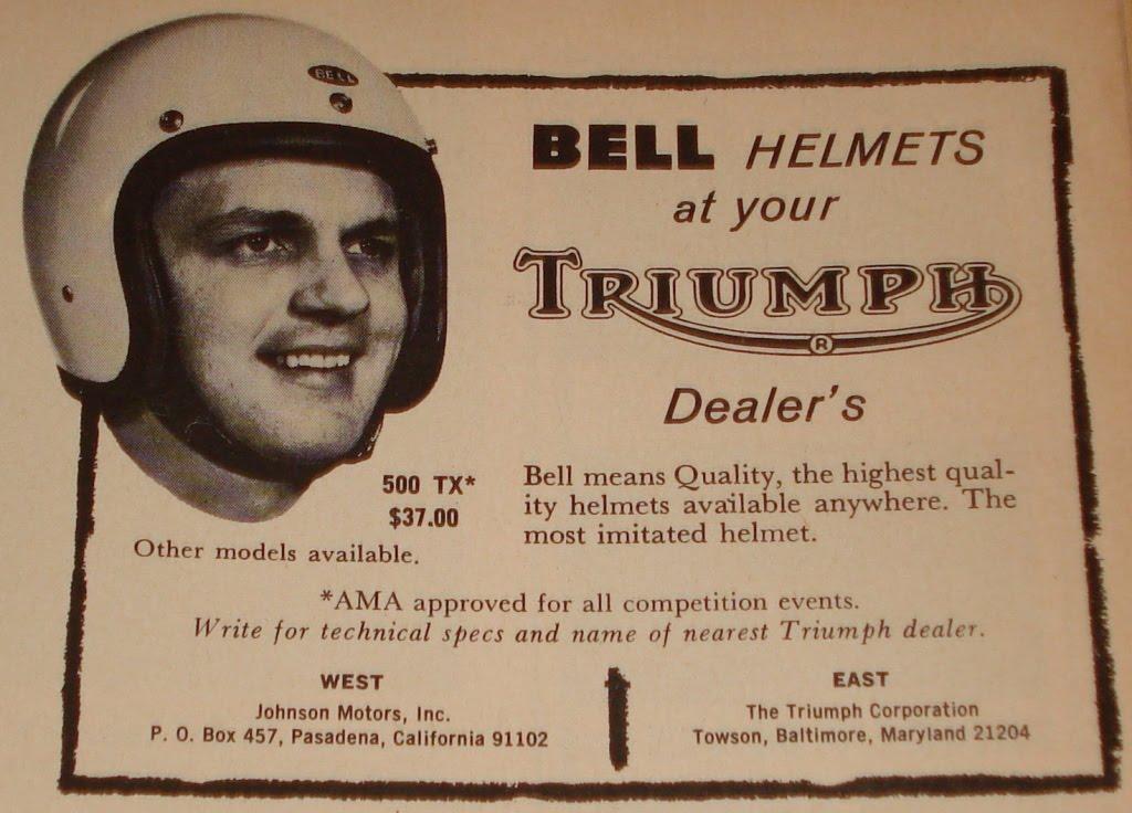 Bell Helmets 500TX advertisement