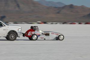 Vintage Oval Track racer Bonneville Salt Flats