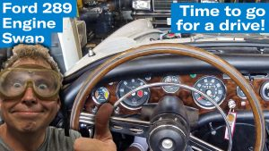 Test drive! Taking the 289-powered Tiger for a spin | Sunbeam Tiger engine swap project – Ep. 12