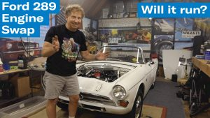 Brad's Ford 289- Wait, it actually runs?! | Sunbeam Tiger engine swap project – Ep. 11
