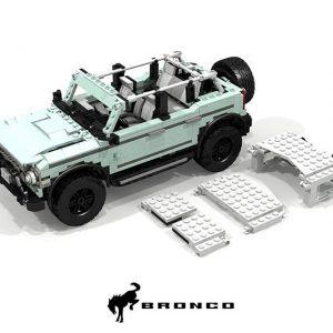2021 Bronco 4-door Lego